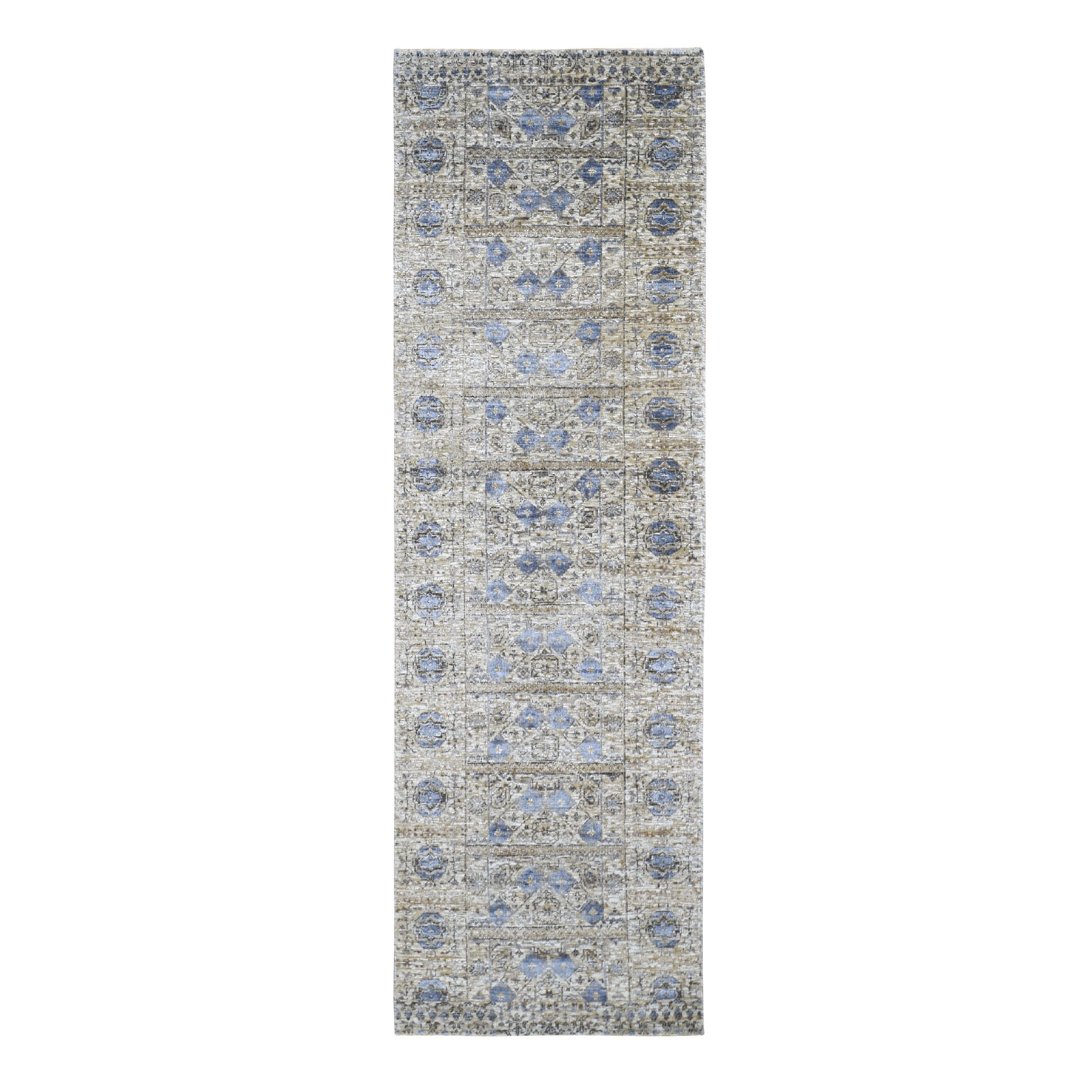 Intricate Collection Hand Knotted Beige Rug No: 198130