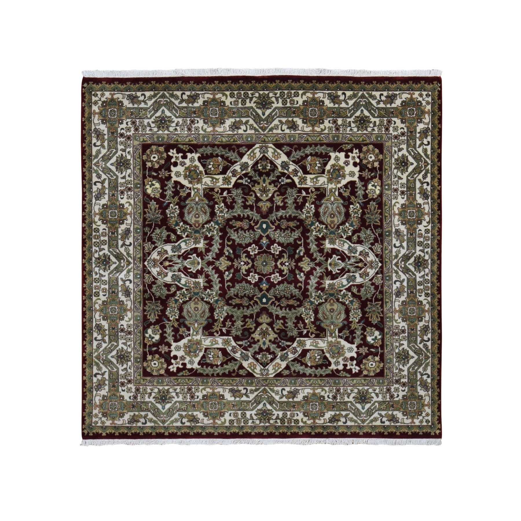 Pirniakan Collection Hand Knotted Red Rug No: 0198148