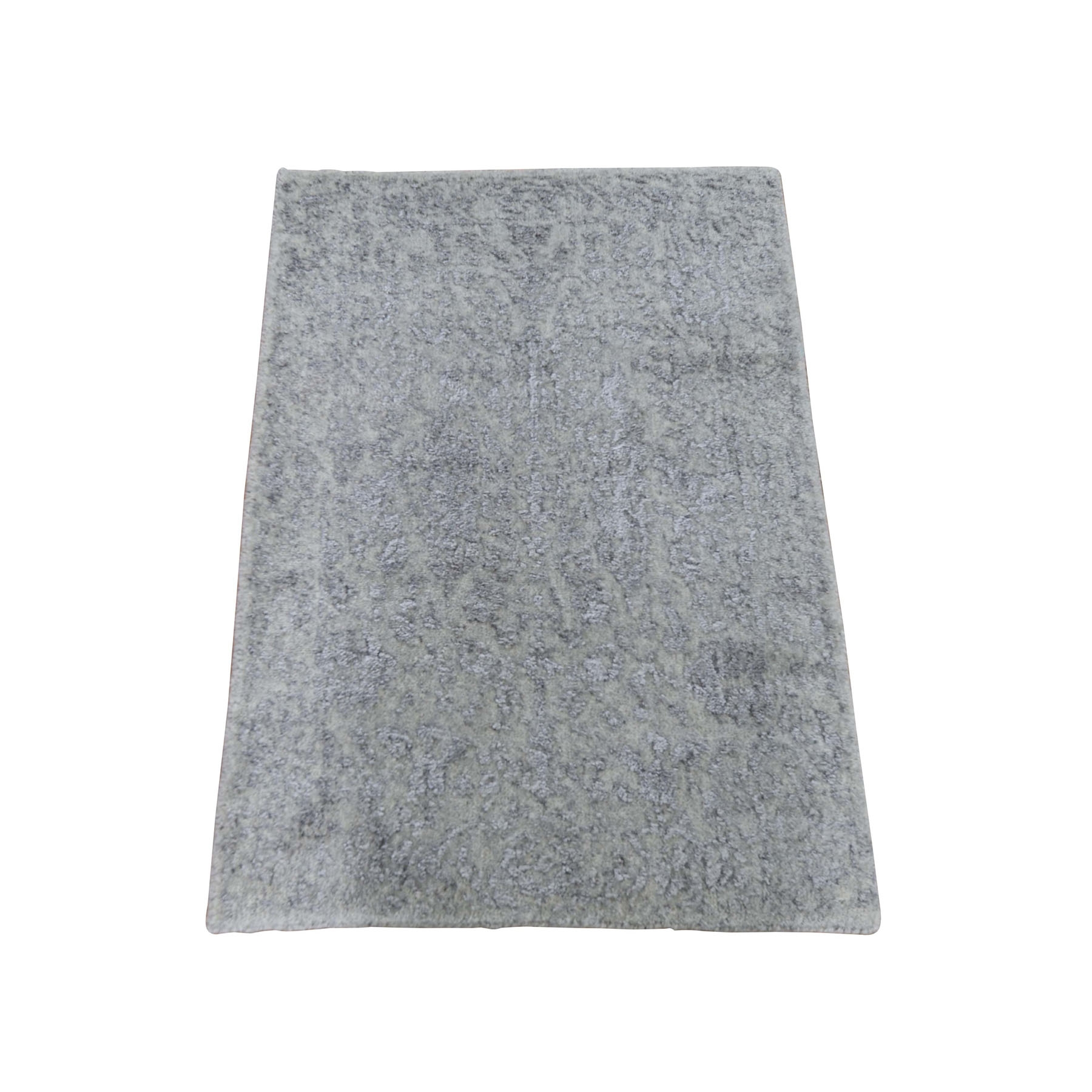 Modern Collection Hand Loomed Grey Rug No: 0198230