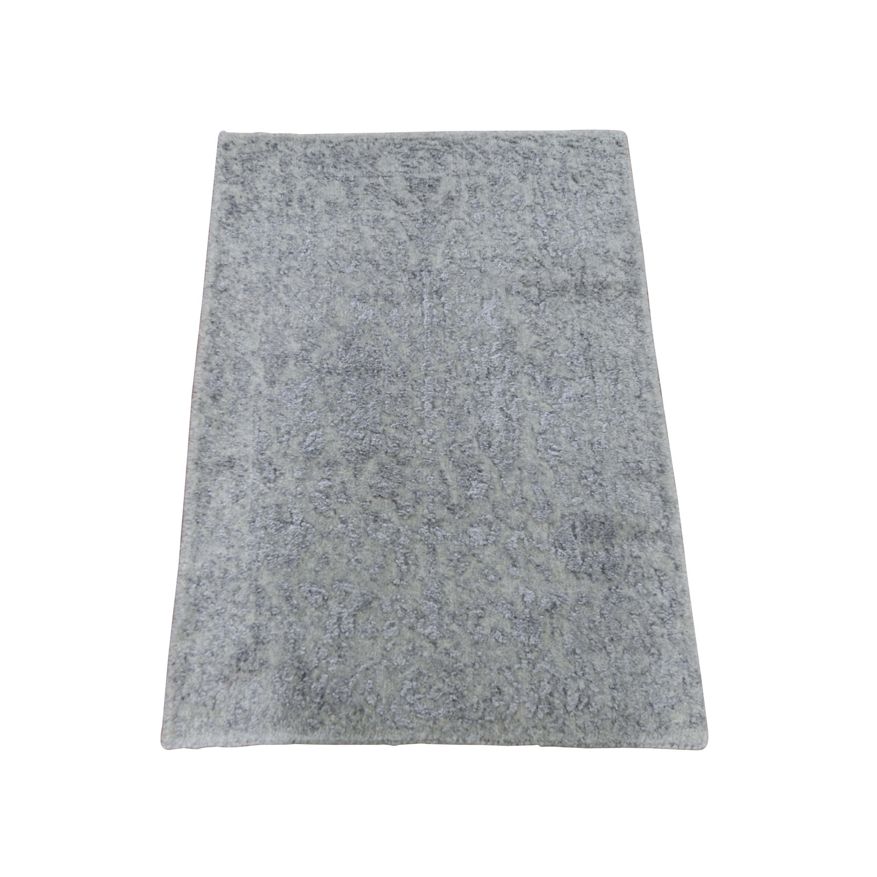 Modern Collection Hand Loomed Grey Rug No: 0198232