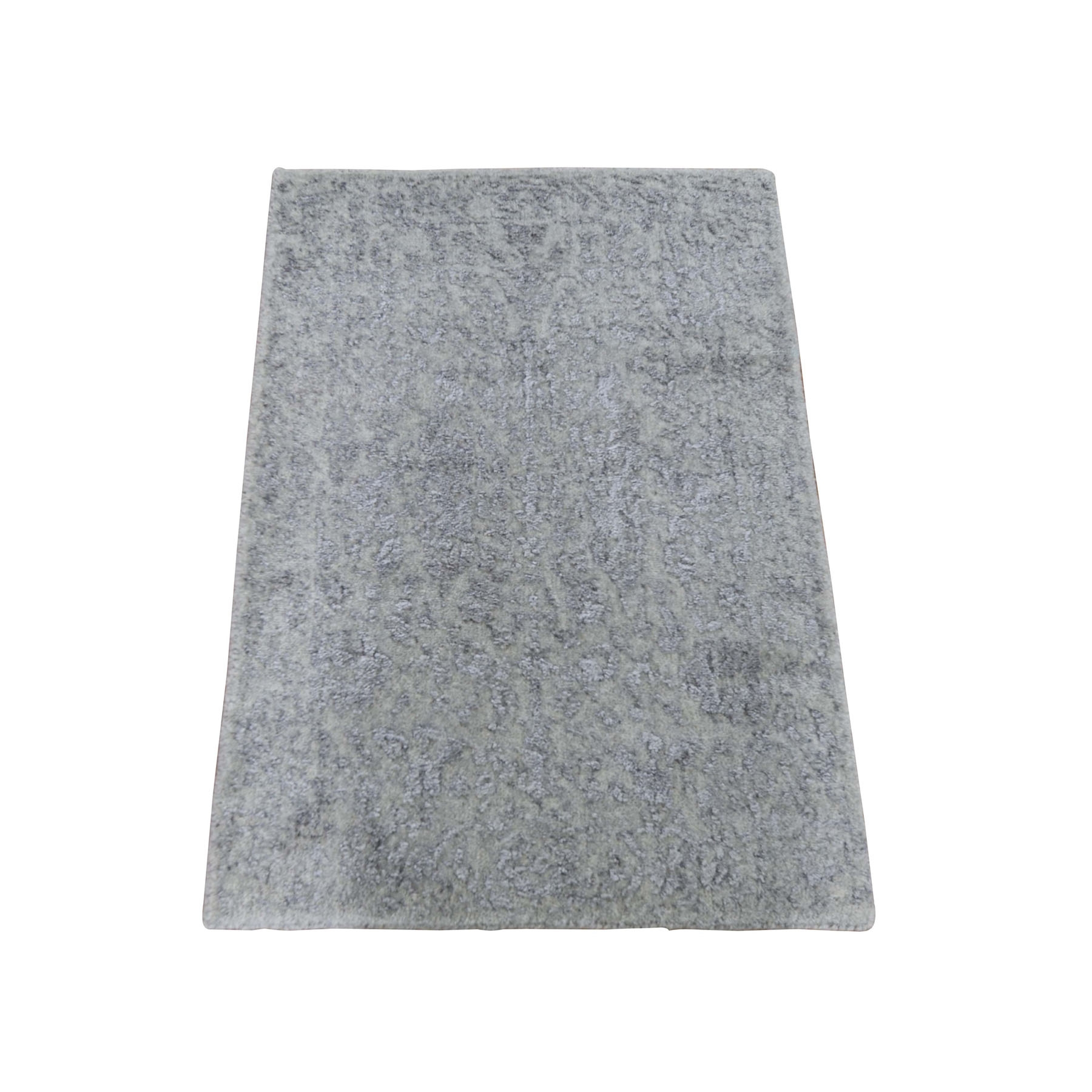 Modern Collection Hand Loomed Grey Rug No: 0198244
