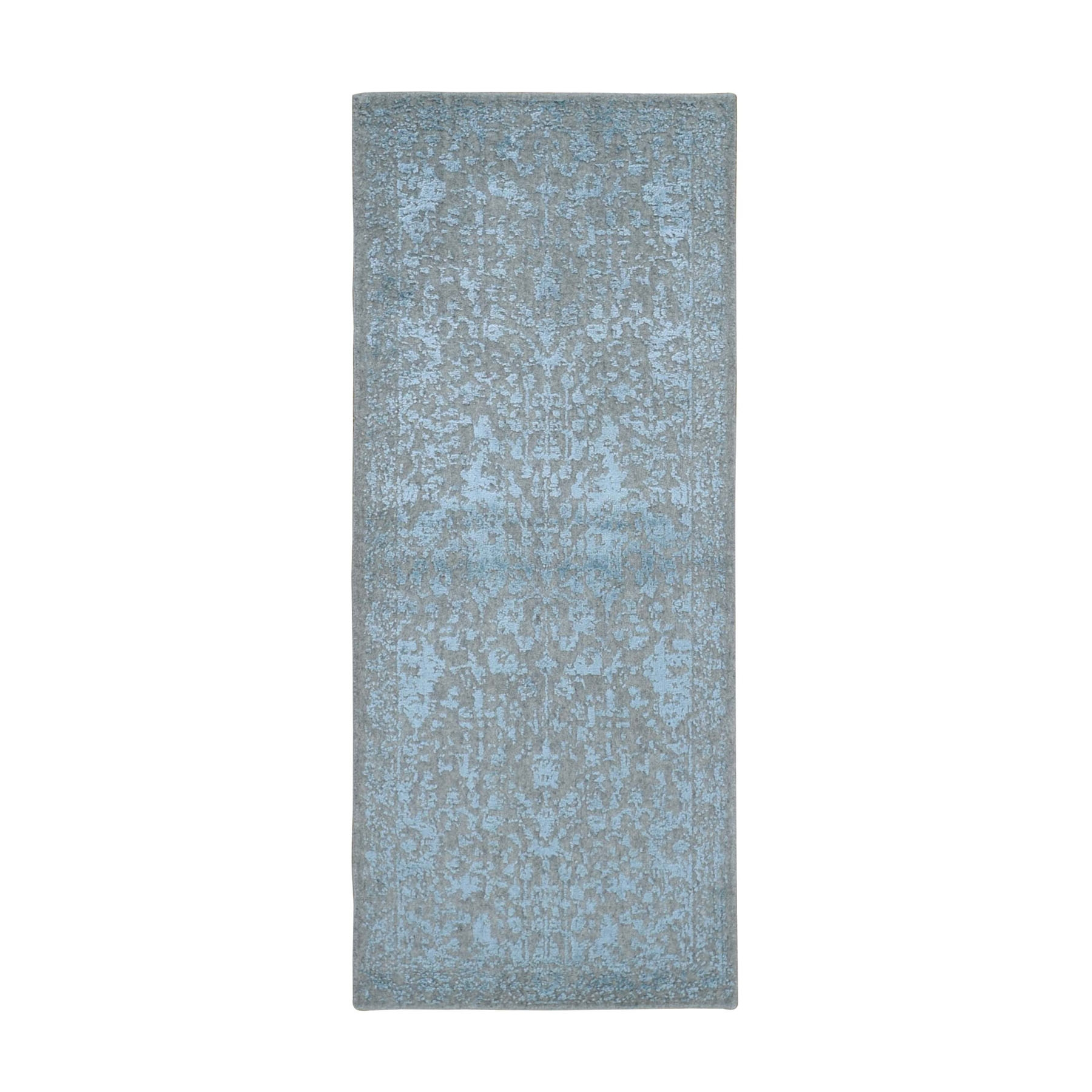 Modern Collection Hand Loomed Grey Rug No: 0198258