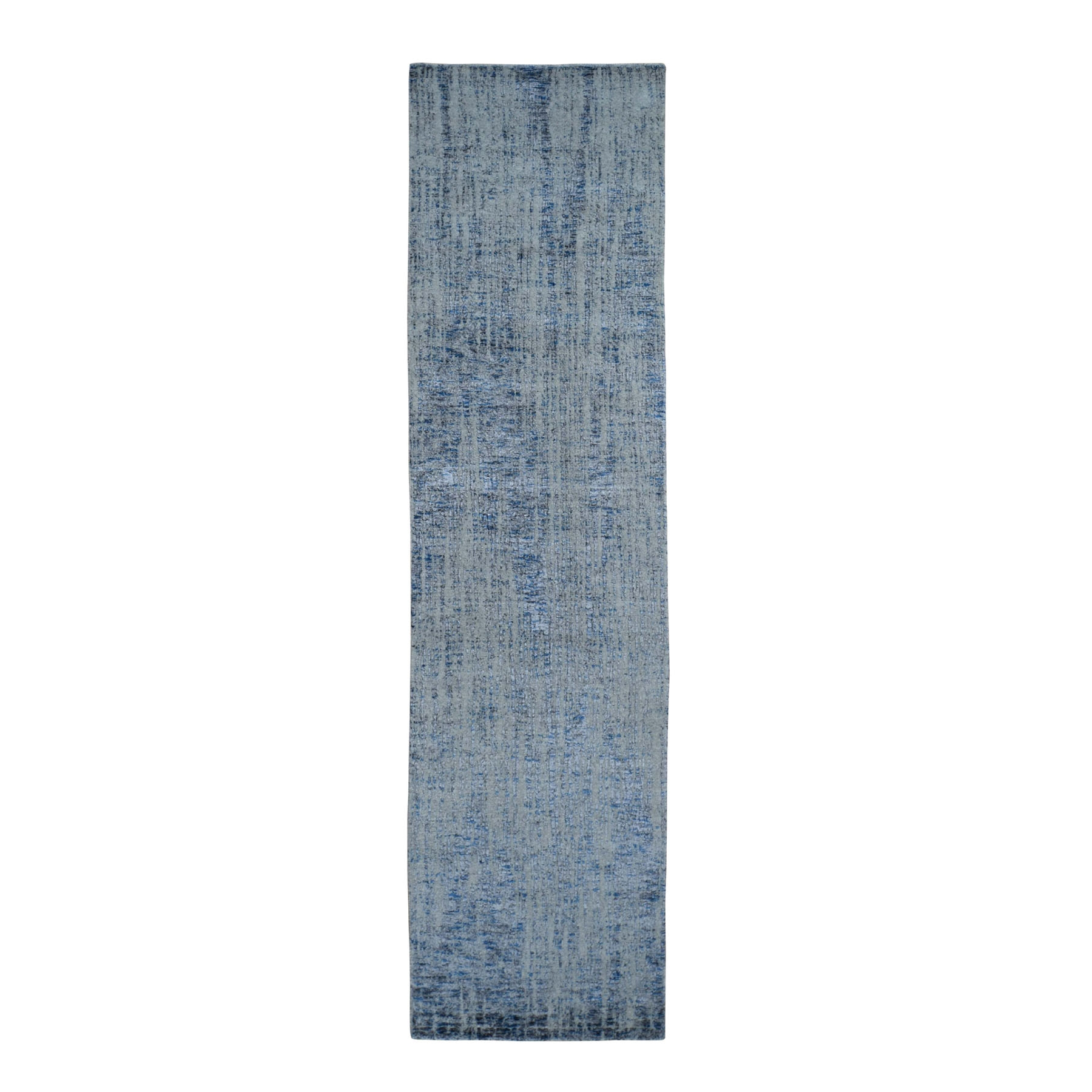 Mid Century Modern Collection Hand Loomed Grey Rug No: 0198270