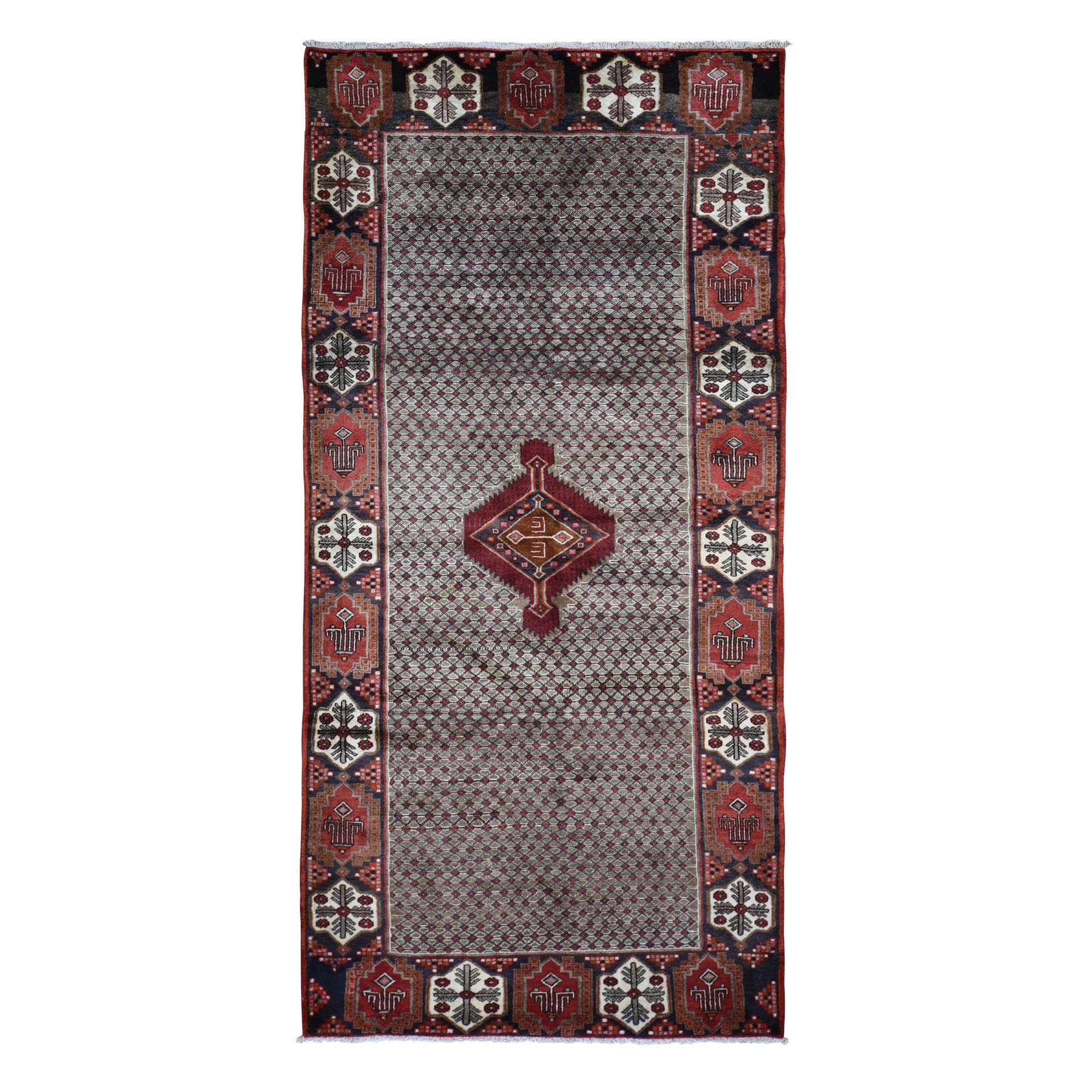 Classic Persian Collection Hand Knotted Grey Rug No: 198290
