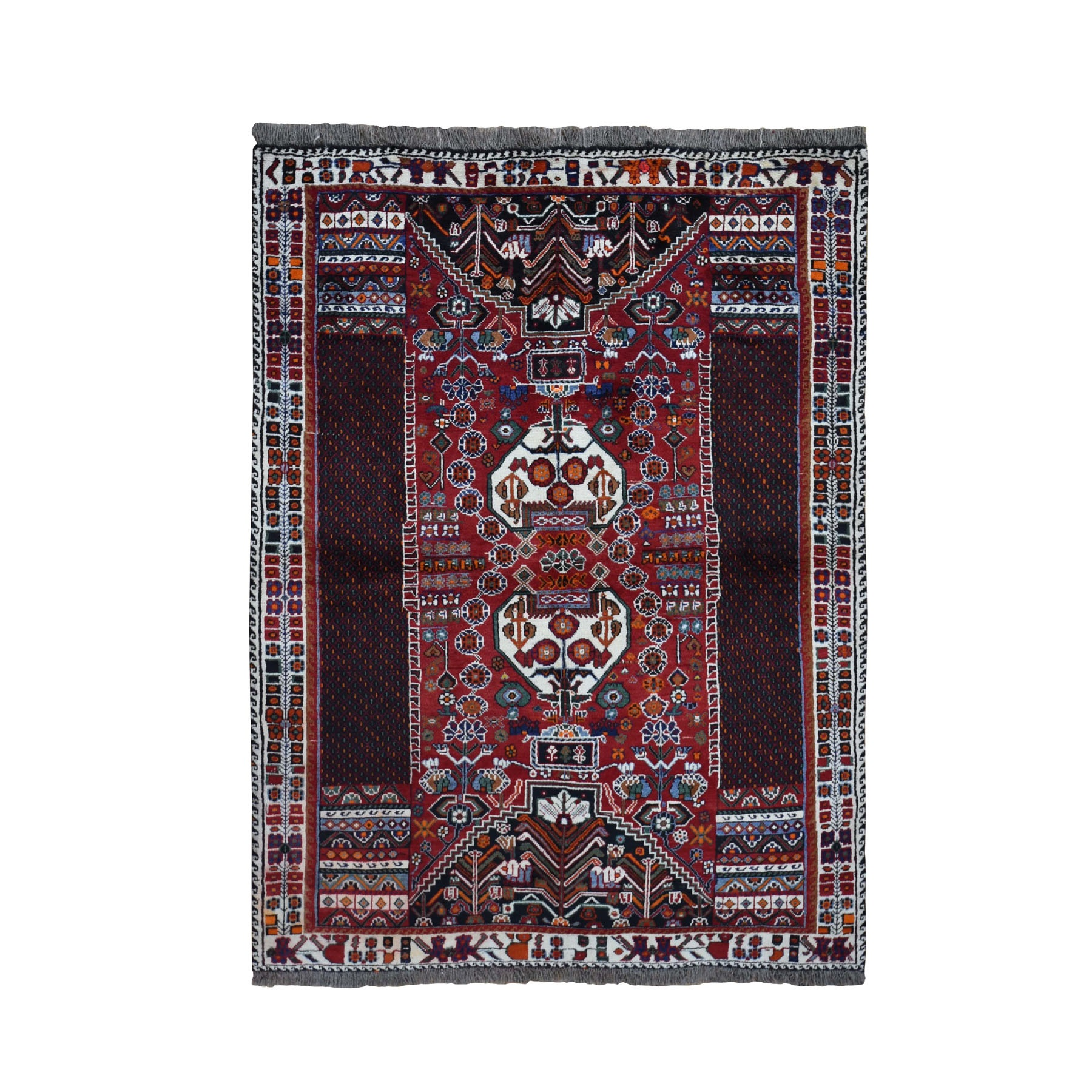 Classic Persian Collection Hand Knotted Red Rug No: 0198204