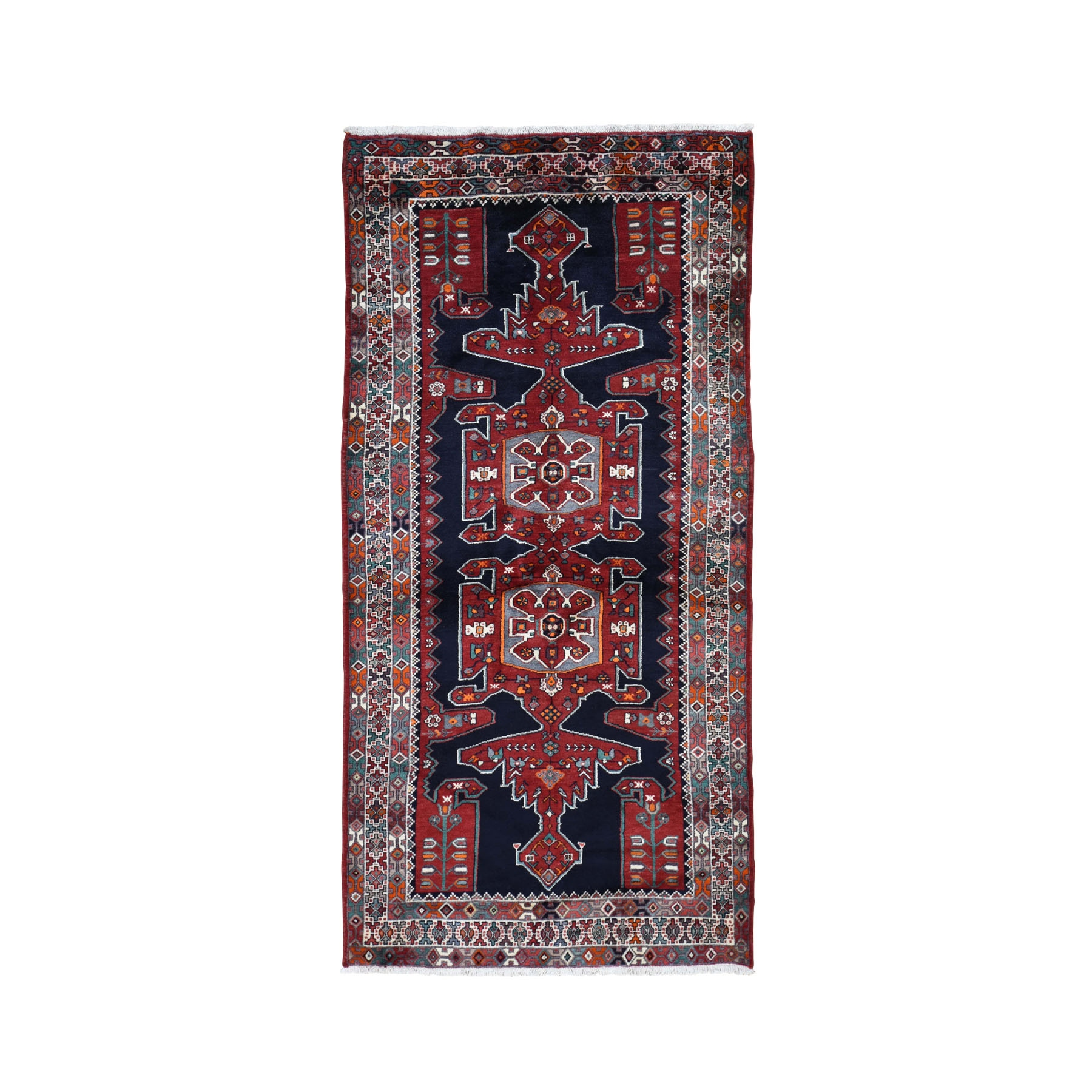 Classic Persian Collection Hand Knotted Red Rug No: 0198292