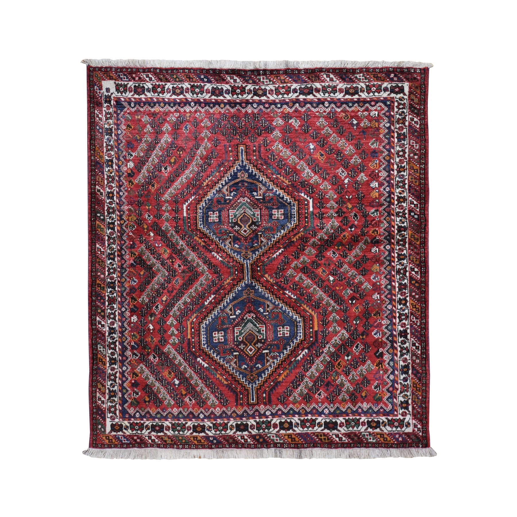 Classic Persian Collection Hand Knotted Red Rug No: 0198314