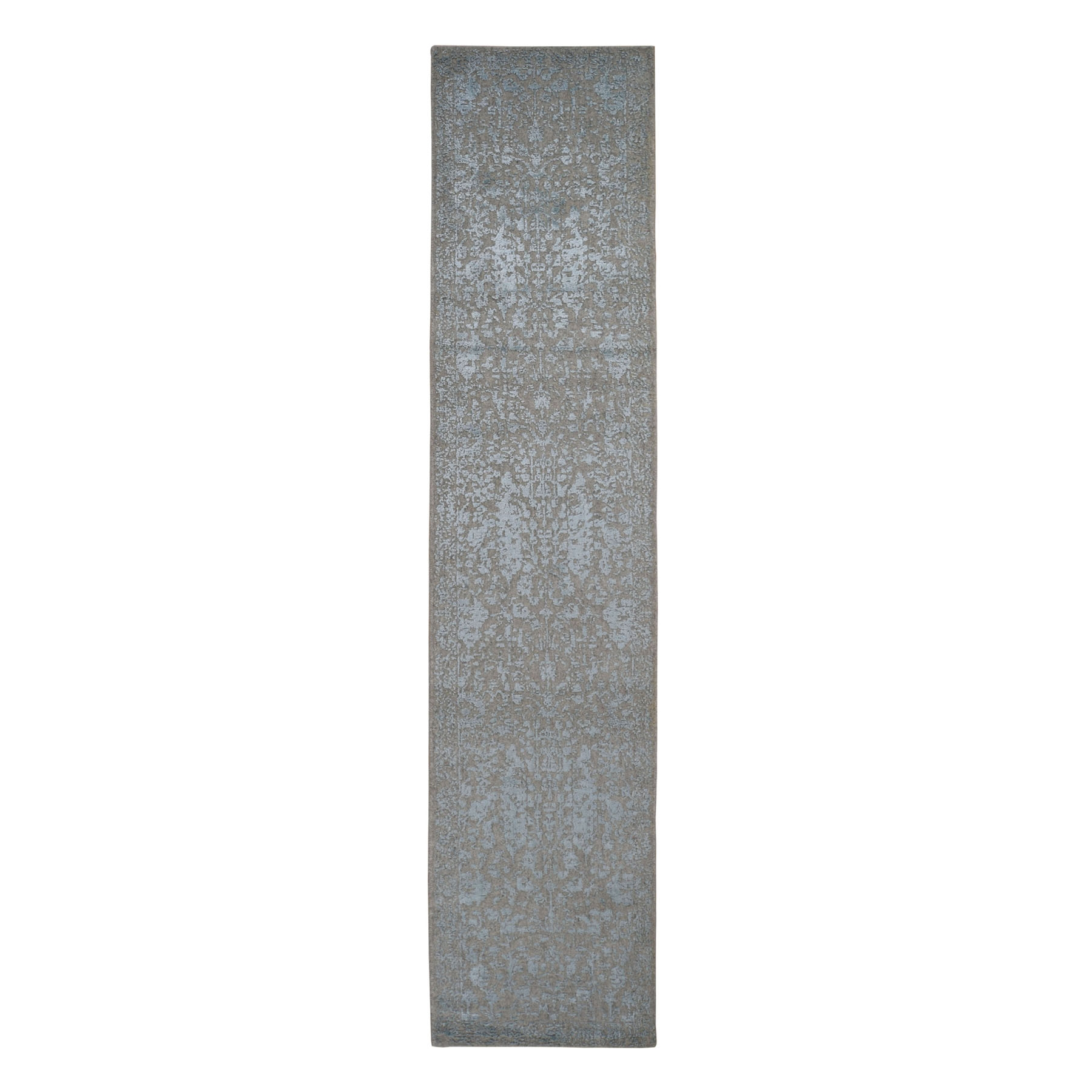 Modern Collection Hand Loomed Grey Rug No: 0198296
