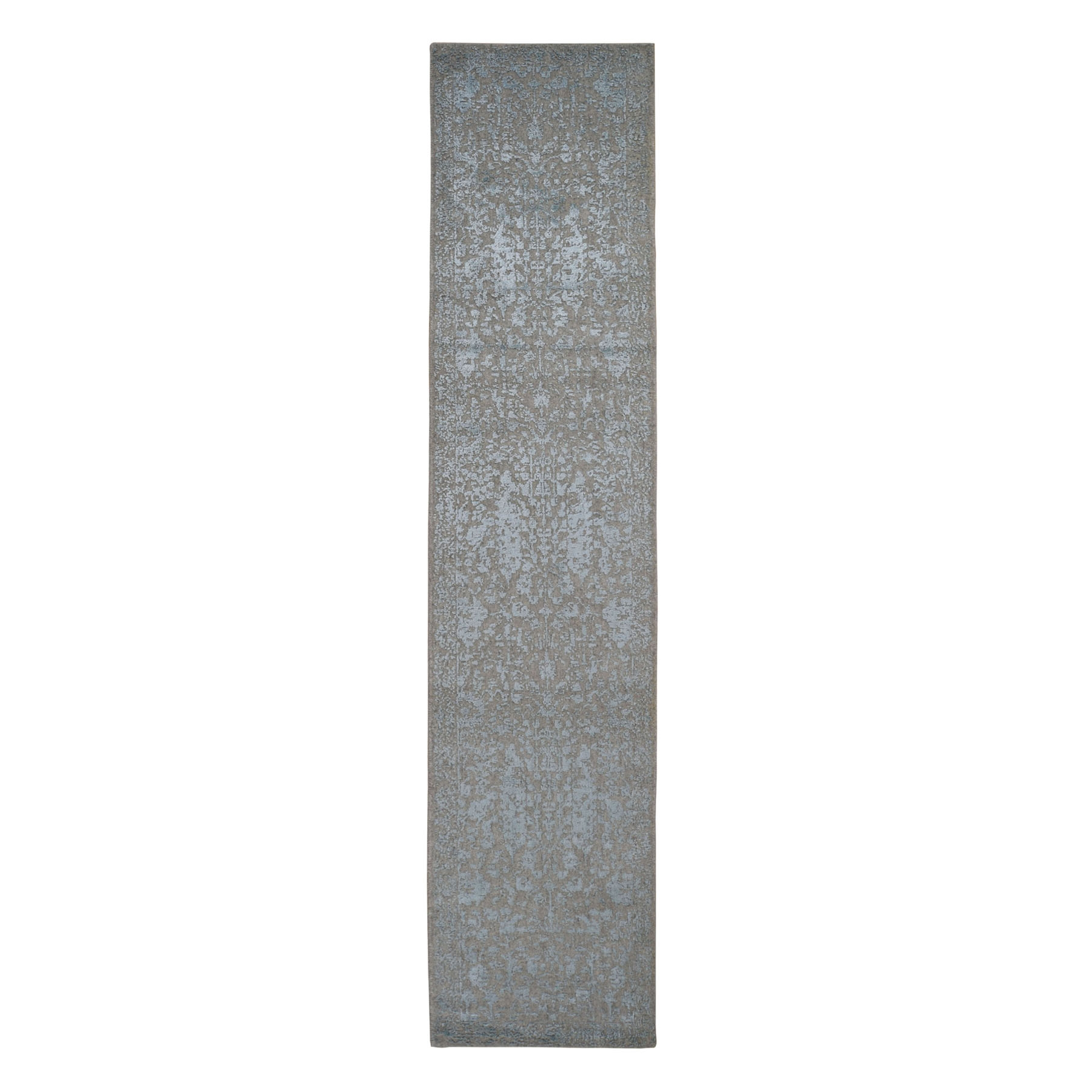 Modern Collection Hand Loomed Grey Rug No: 0198298