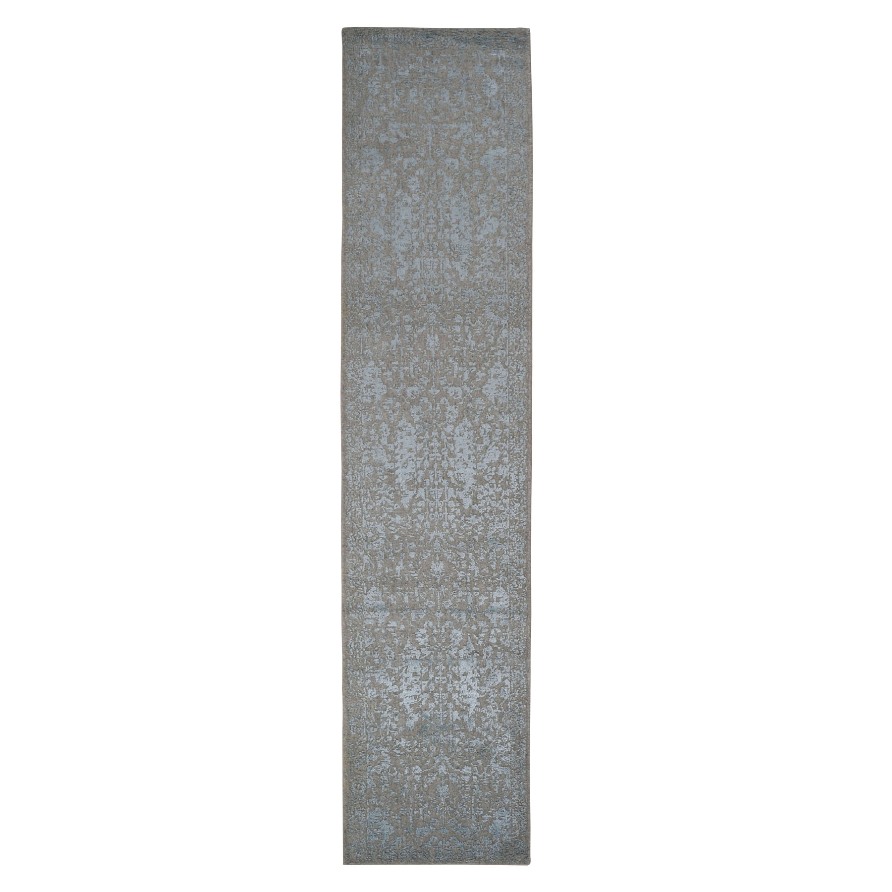 Modern Collection Hand Loomed Grey Rug No: 0198300