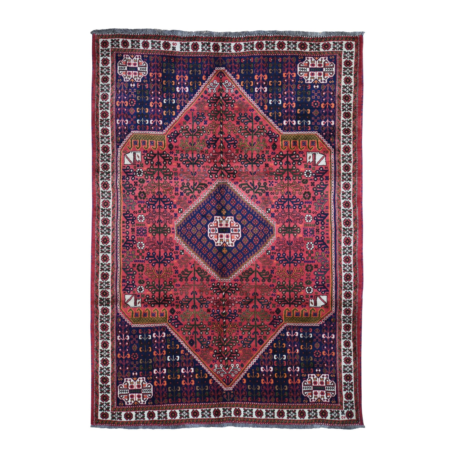 Classic Persian Collection Hand Knotted Red Rug No: 0198346