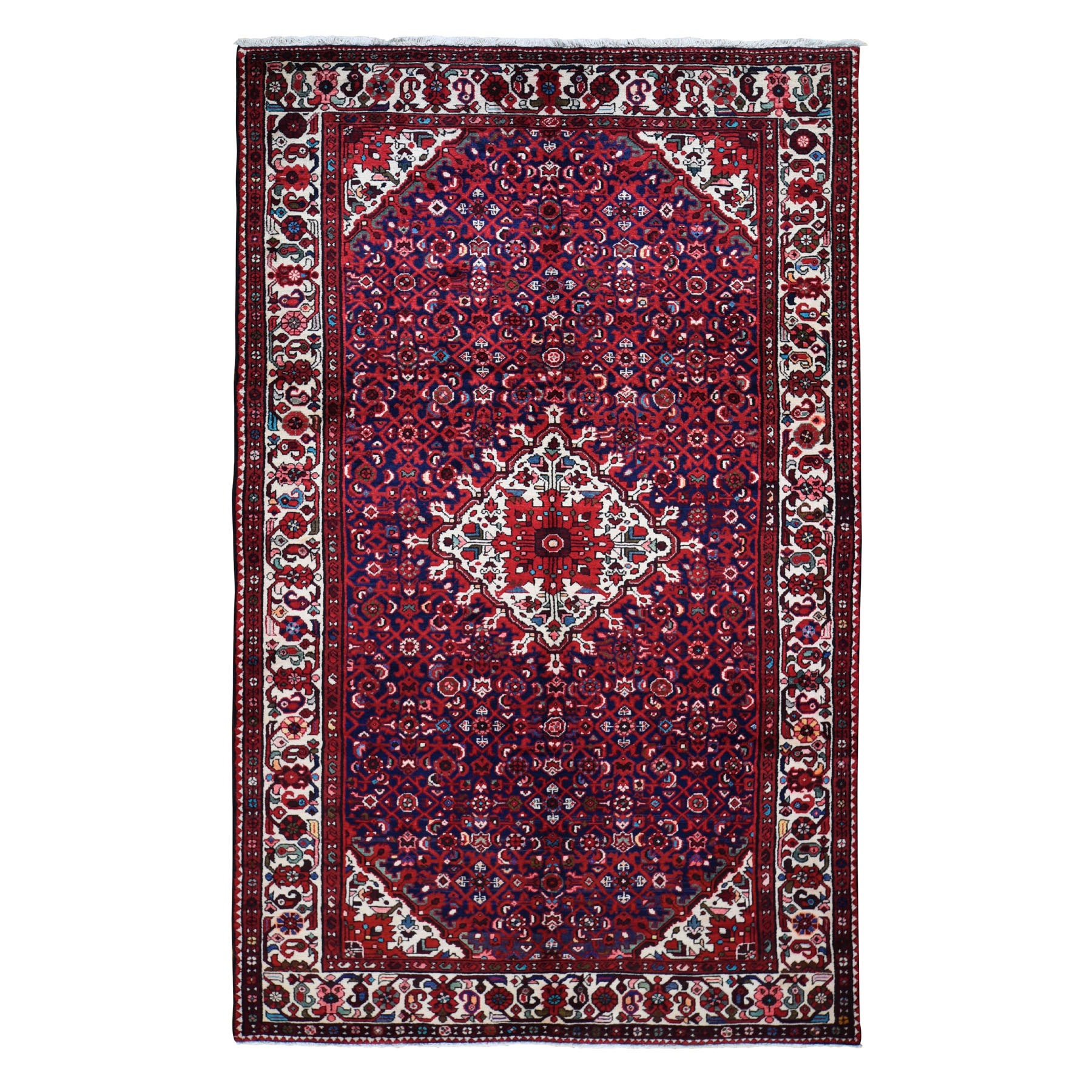 Classic Persian Collection Hand Knotted Blue Rug No: 0198350