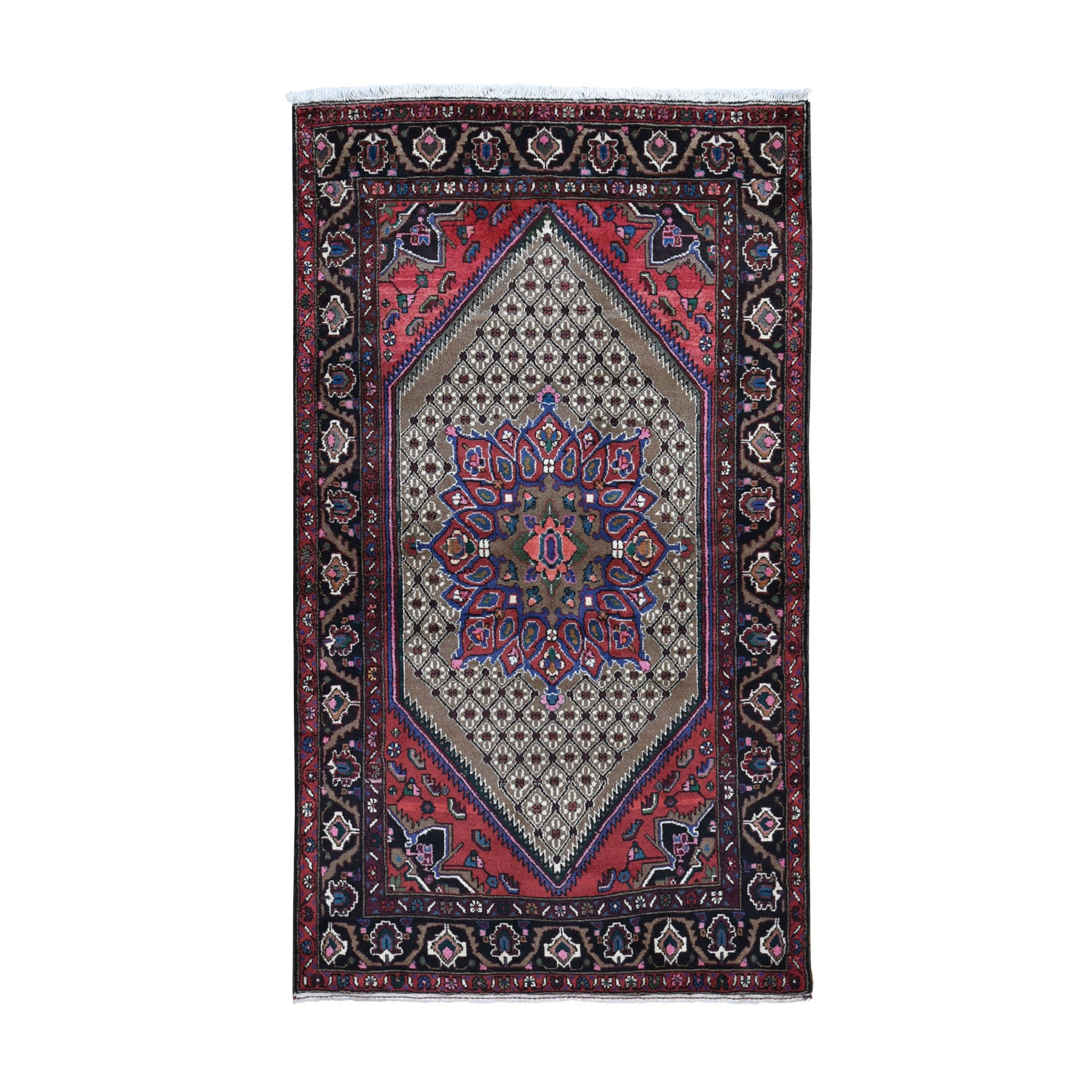 Classic Persian Collection Hand Knotted Brown Rug No: 0198358