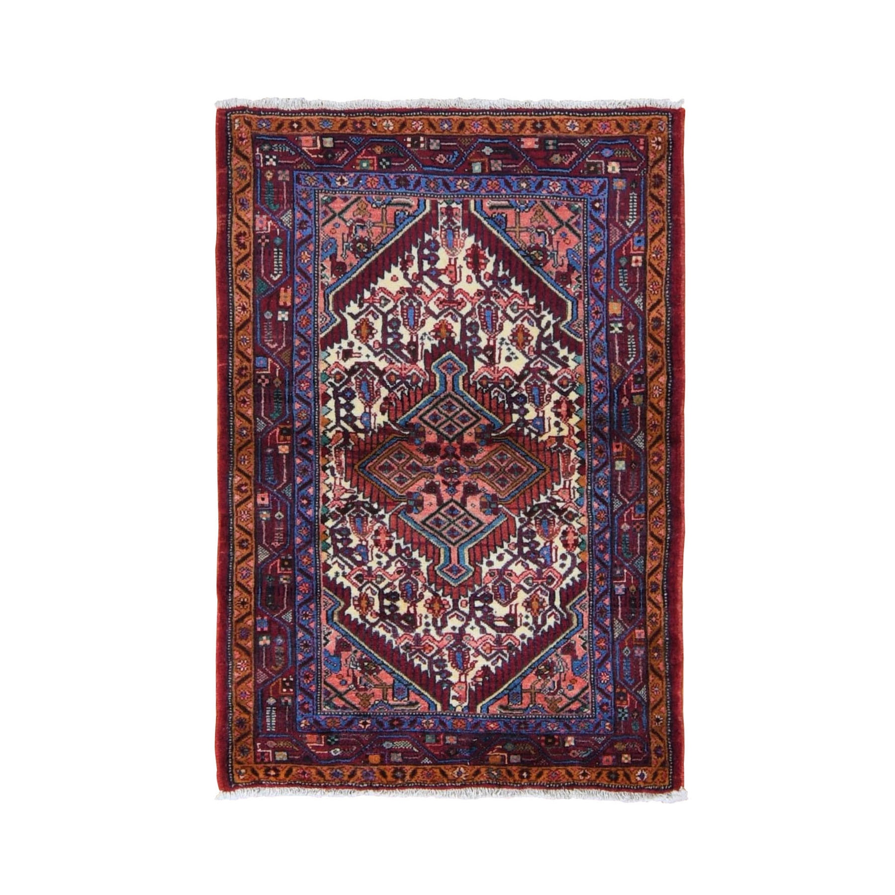 Classic Persian Collection Hand Knotted Red Rug No: 0198450