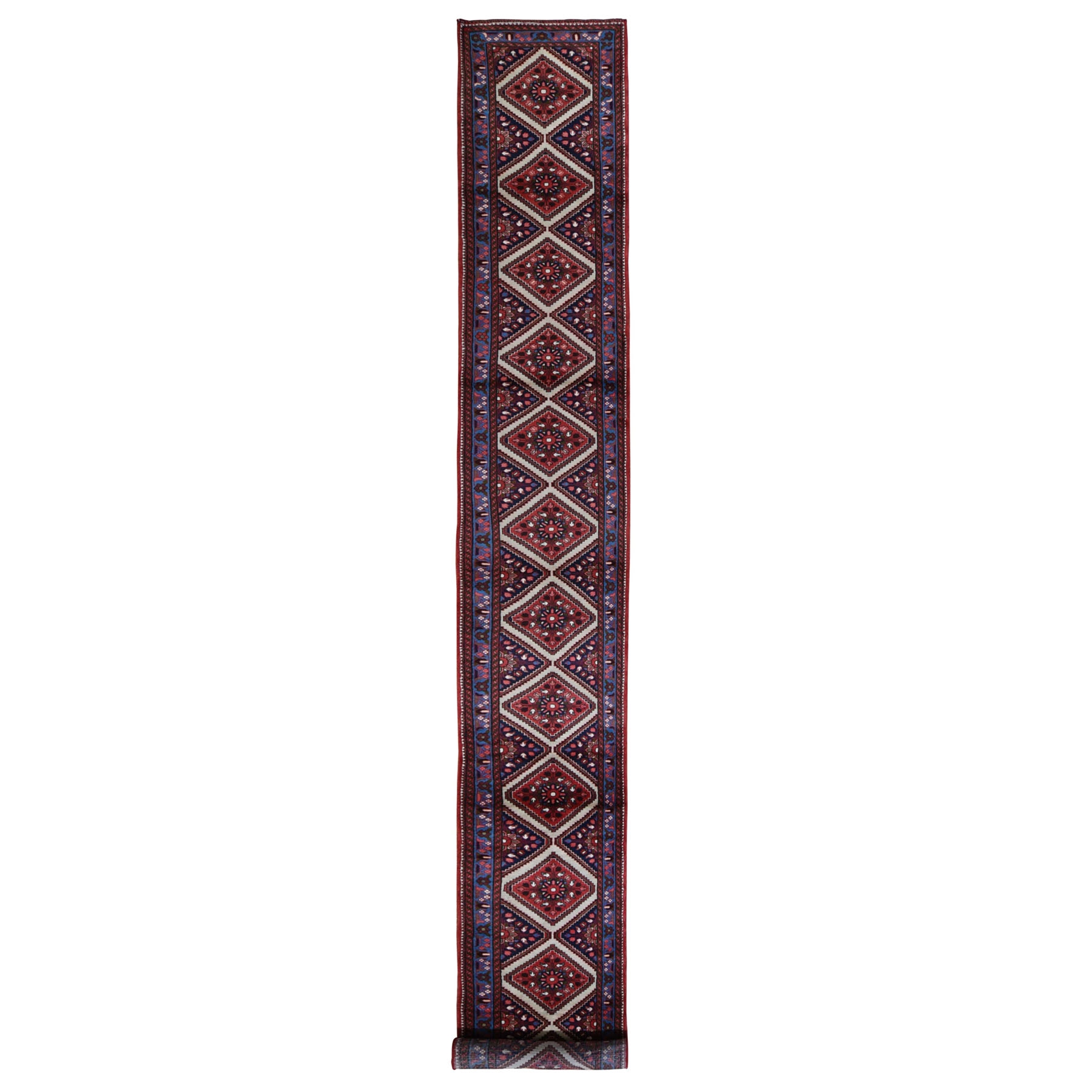 Classic Persian Collection Hand Knotted Red Rug No: 198510
