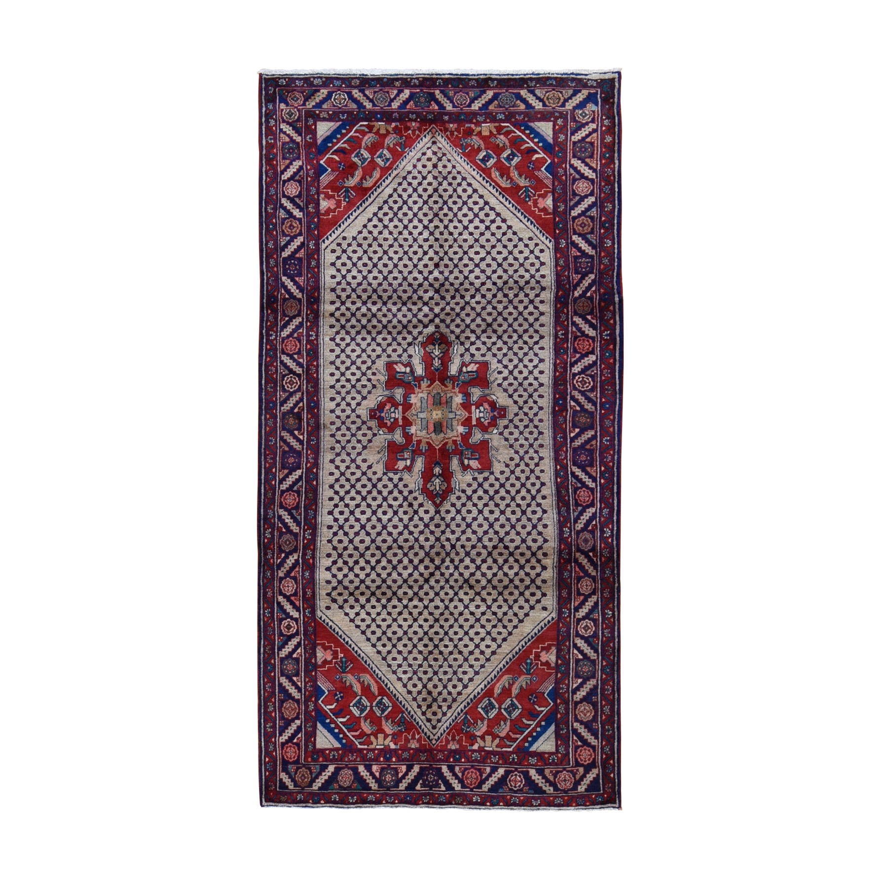 Classic Persian Collection Hand Knotted Beige Rug No: 0198552