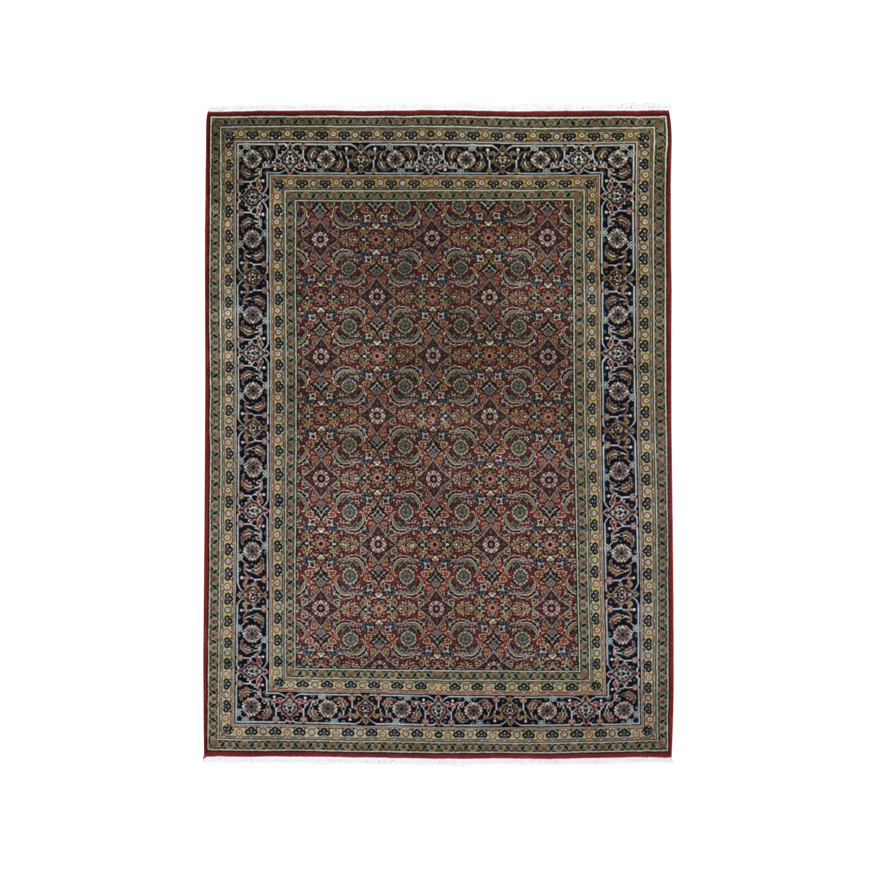 Pirniakan Collection Hand Knotted Red Rug No: 0198556