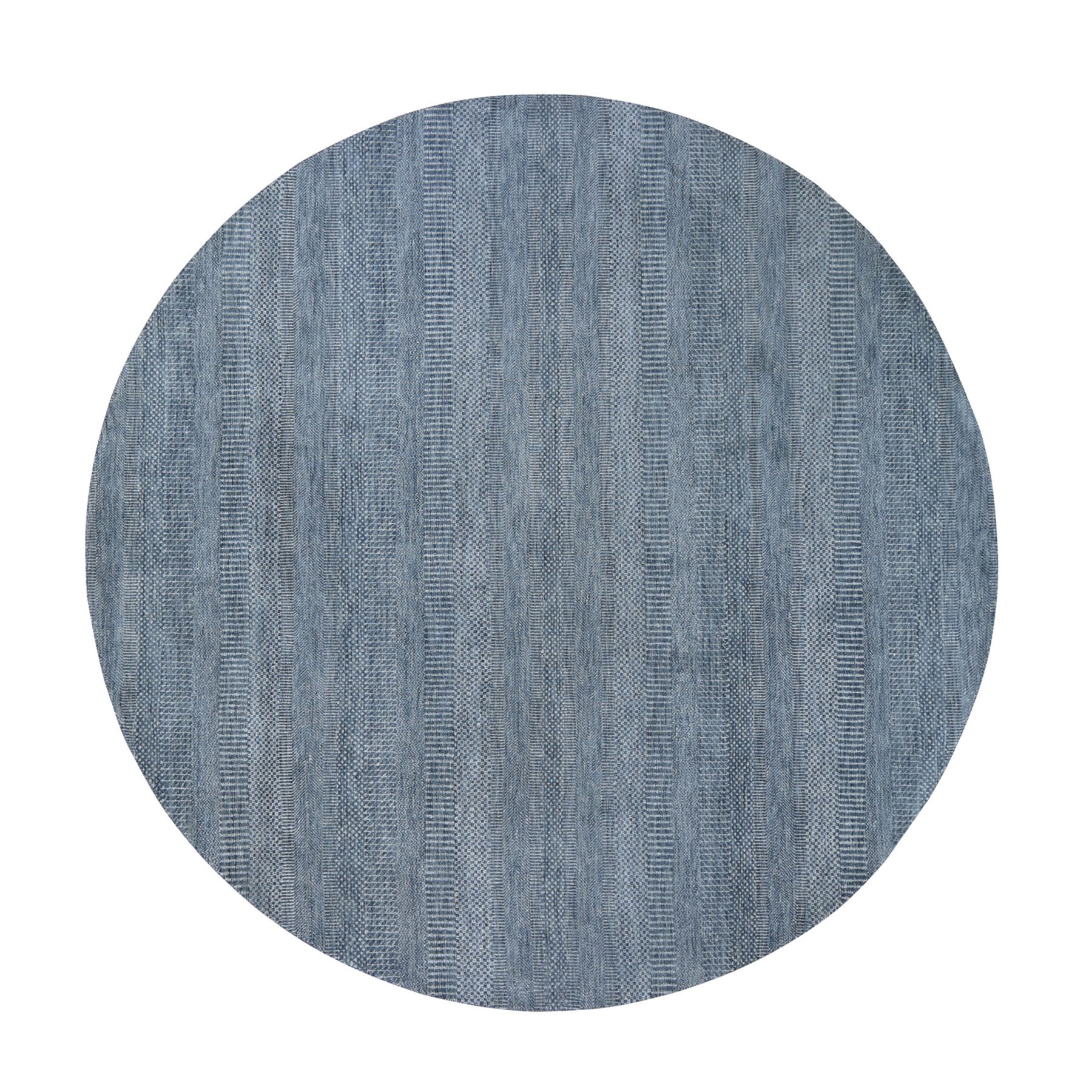 Mid Century Modern Collection Hand Knotted Grey Rug No: 0199004