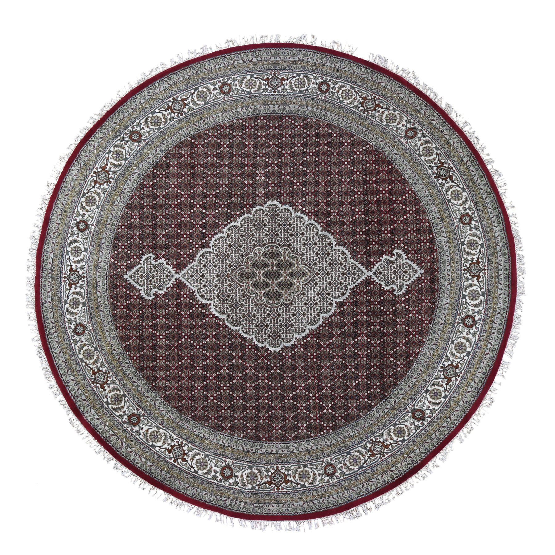 Pirniakan Collection Hand Knotted Red Rug No: 0199012