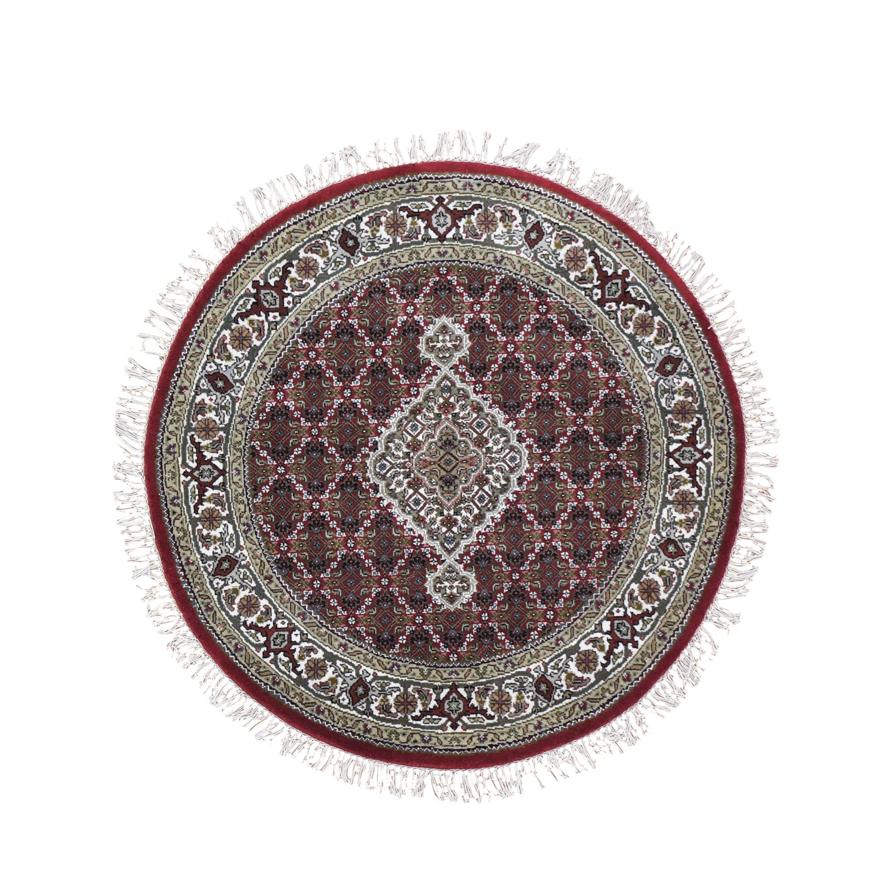 Pirniakan Collection Hand Knotted Red Rug No: 0199018