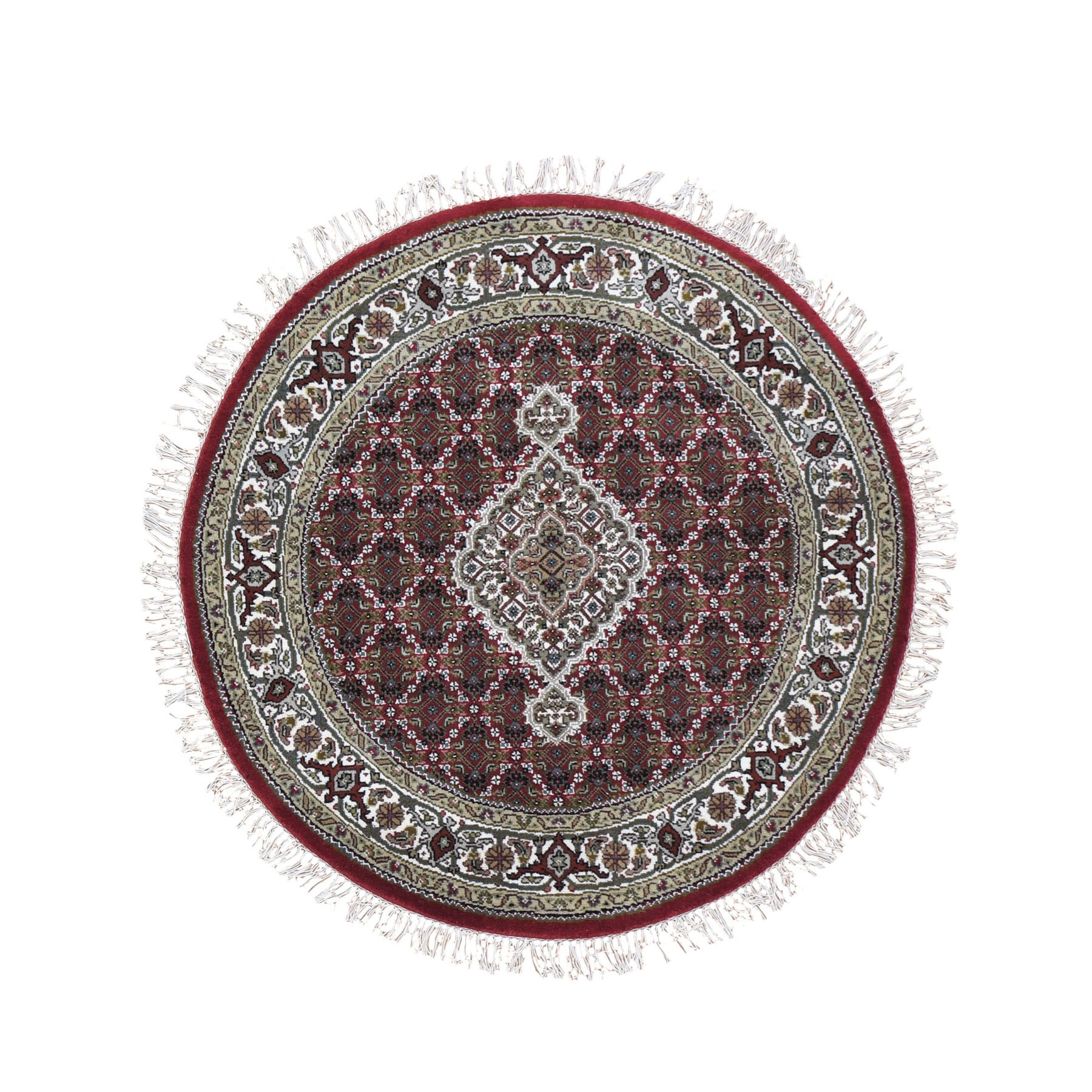 Pirniakan Collection Hand Knotted Red Rug No: 0199020