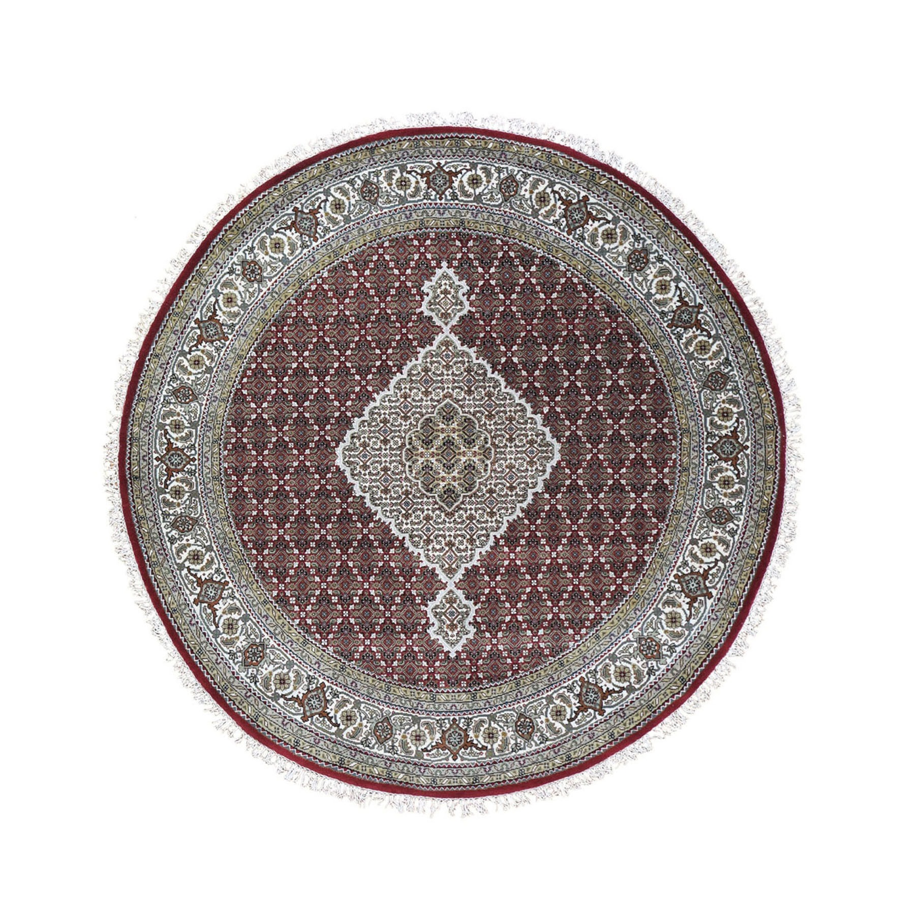 Pirniakan Collection Hand Knotted Red Rug No: 0199022