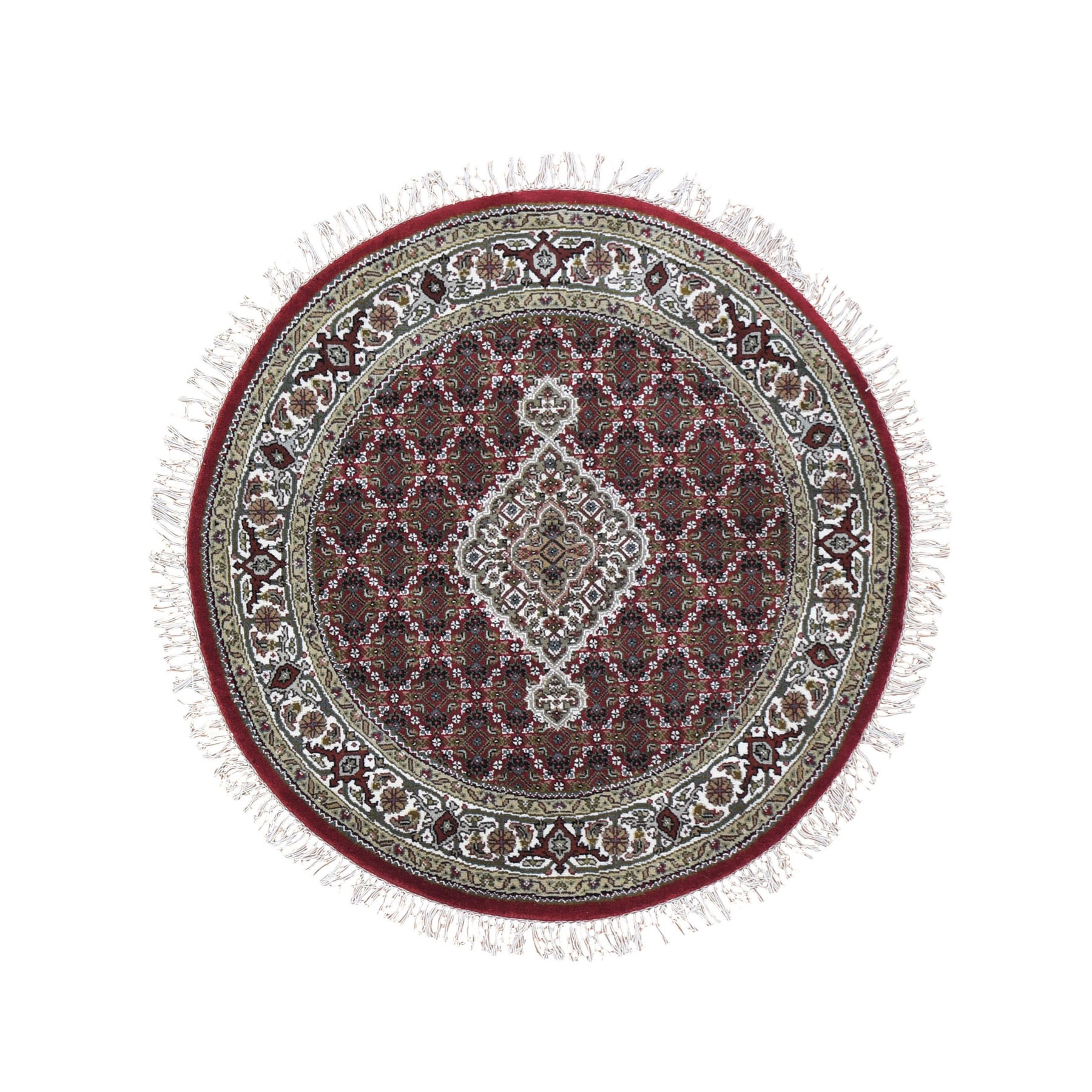 Pirniakan Collection Hand Knotted Red Rug No: 0199024