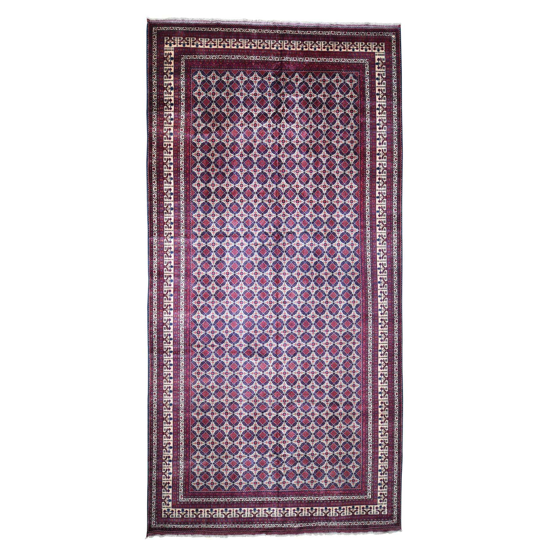 Nomadic And Village Collection Hand Knotted Red Rug No: 188184