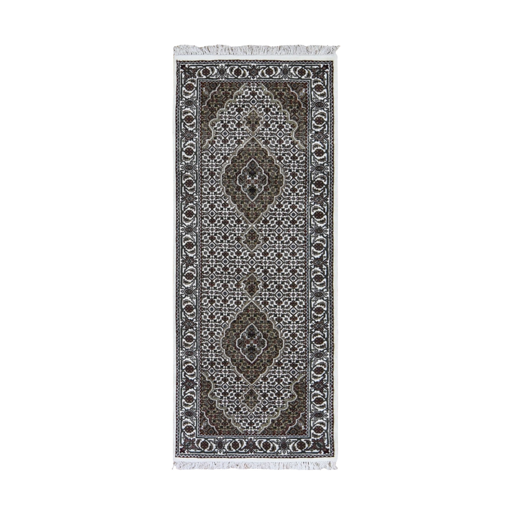 Pirniakan Collection Hand Knotted Ivory Rug No: 0199042