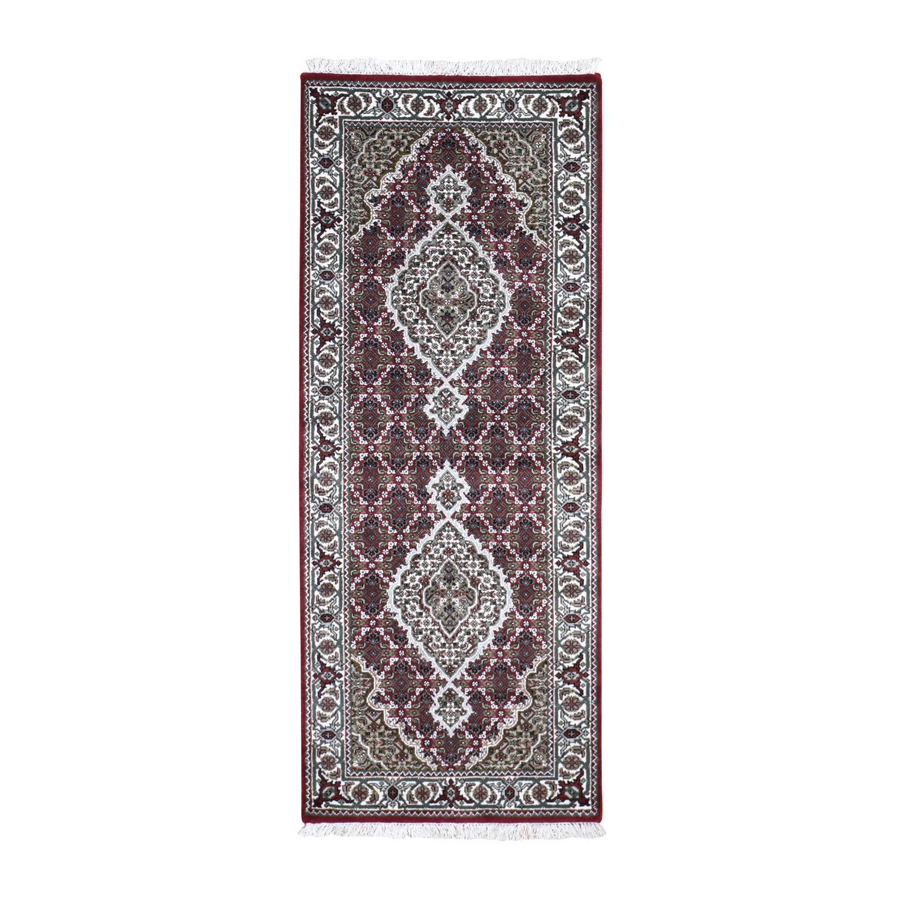 Pirniakan Collection Hand Knotted Red Rug No: 0199116