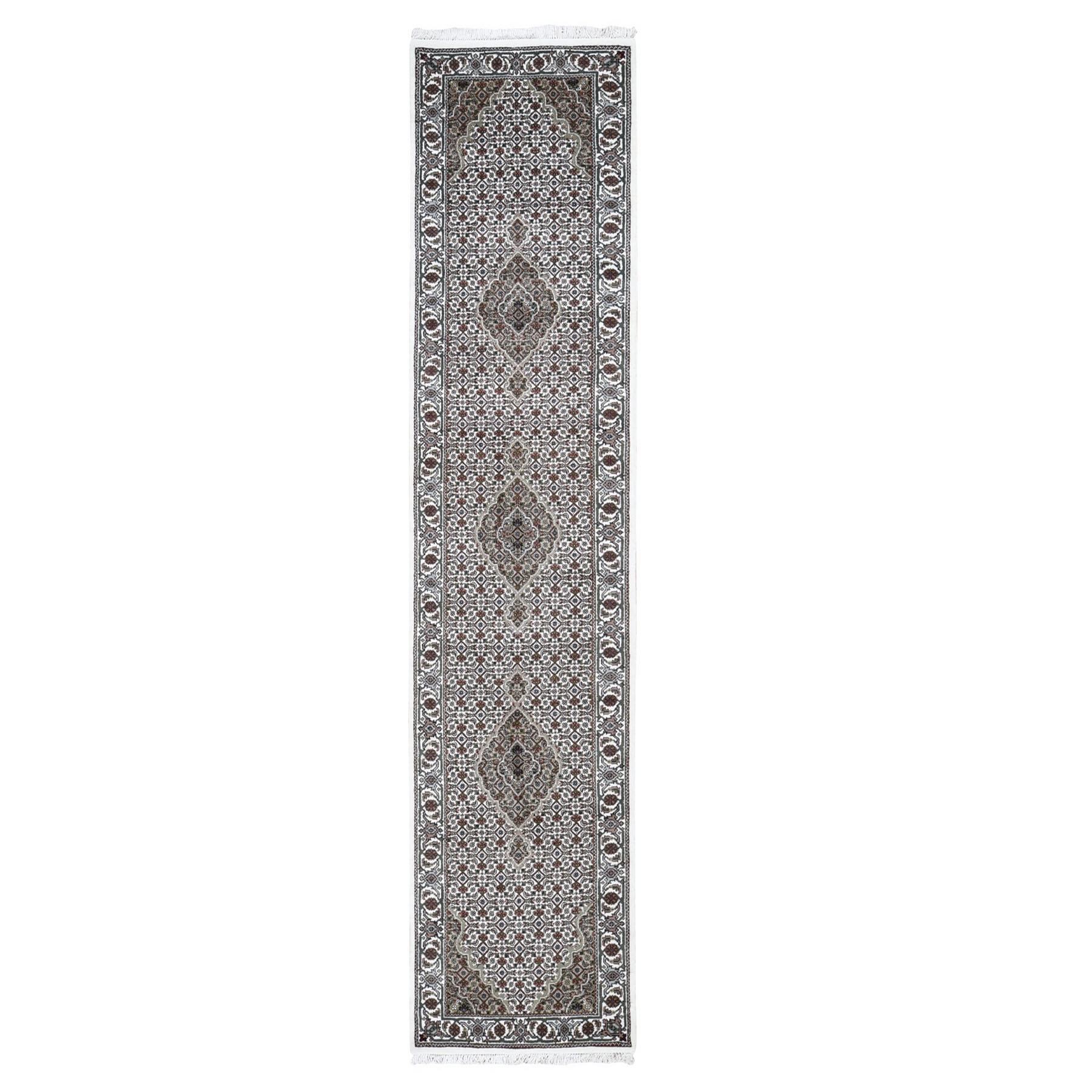 Pirniakan Collection Hand Knotted Ivory Rug No: 0199100
