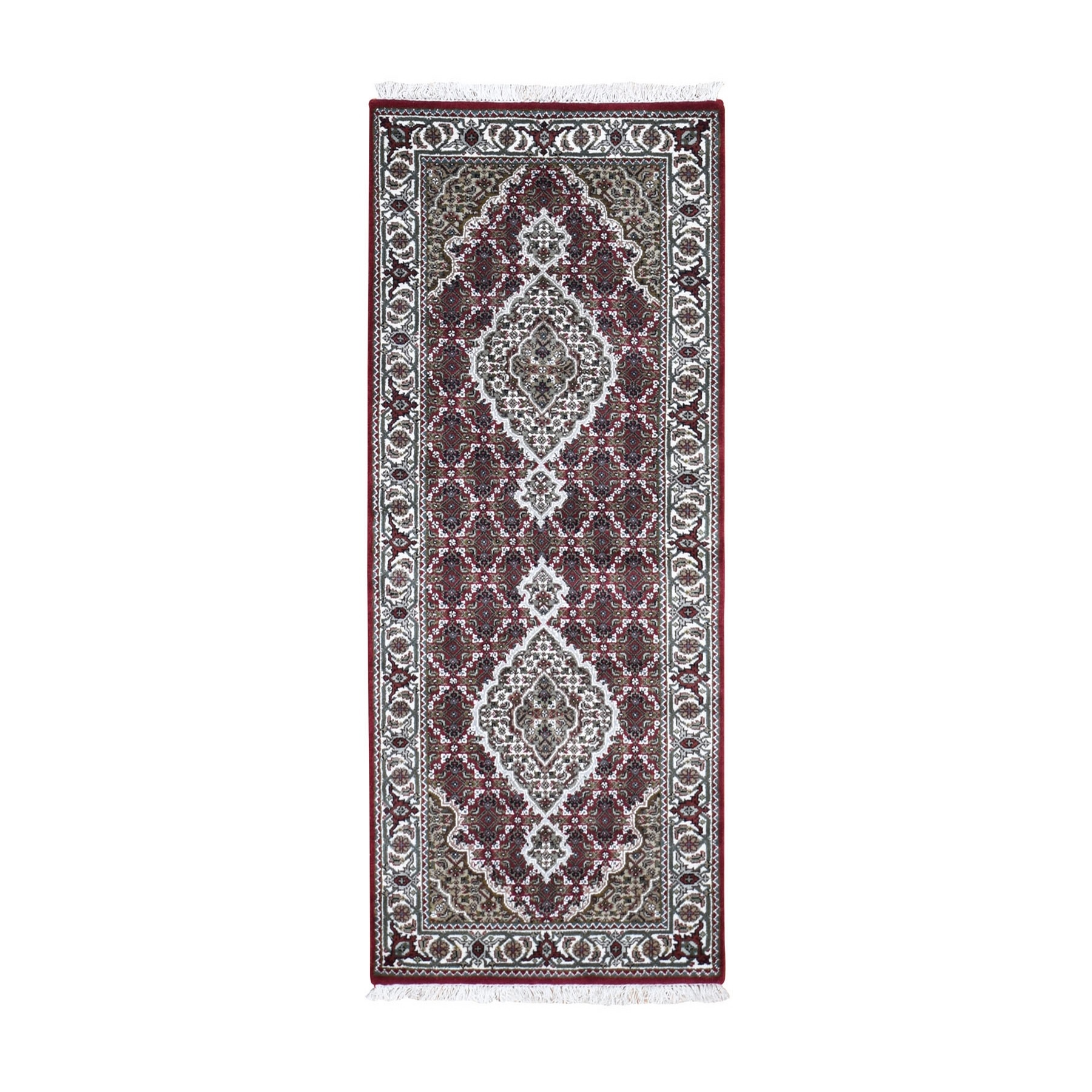 Pirniakan Collection Hand Knotted Red Rug No: 0199118