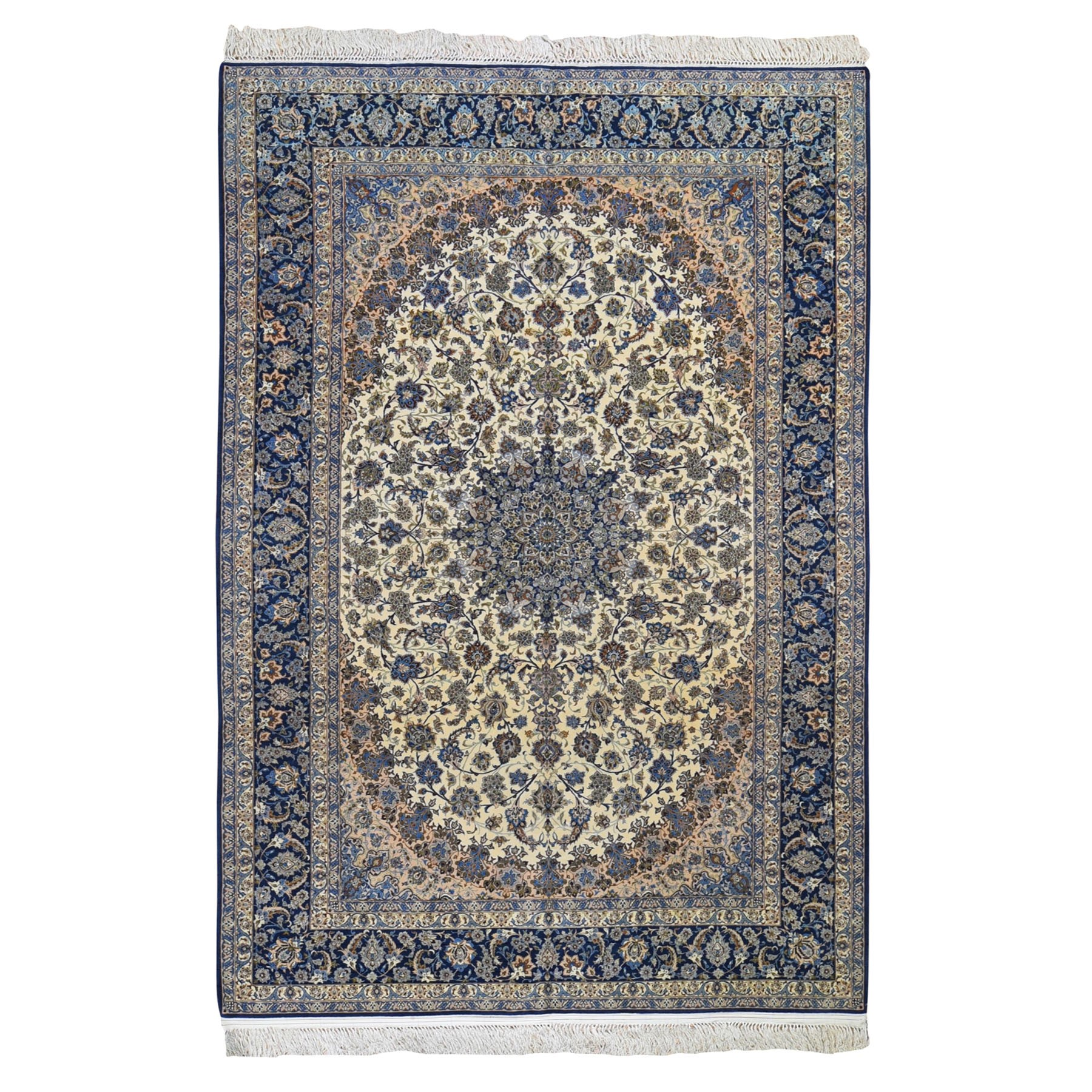 Classic Persian Collection Hand Knotted Beige Rug No: 0199272