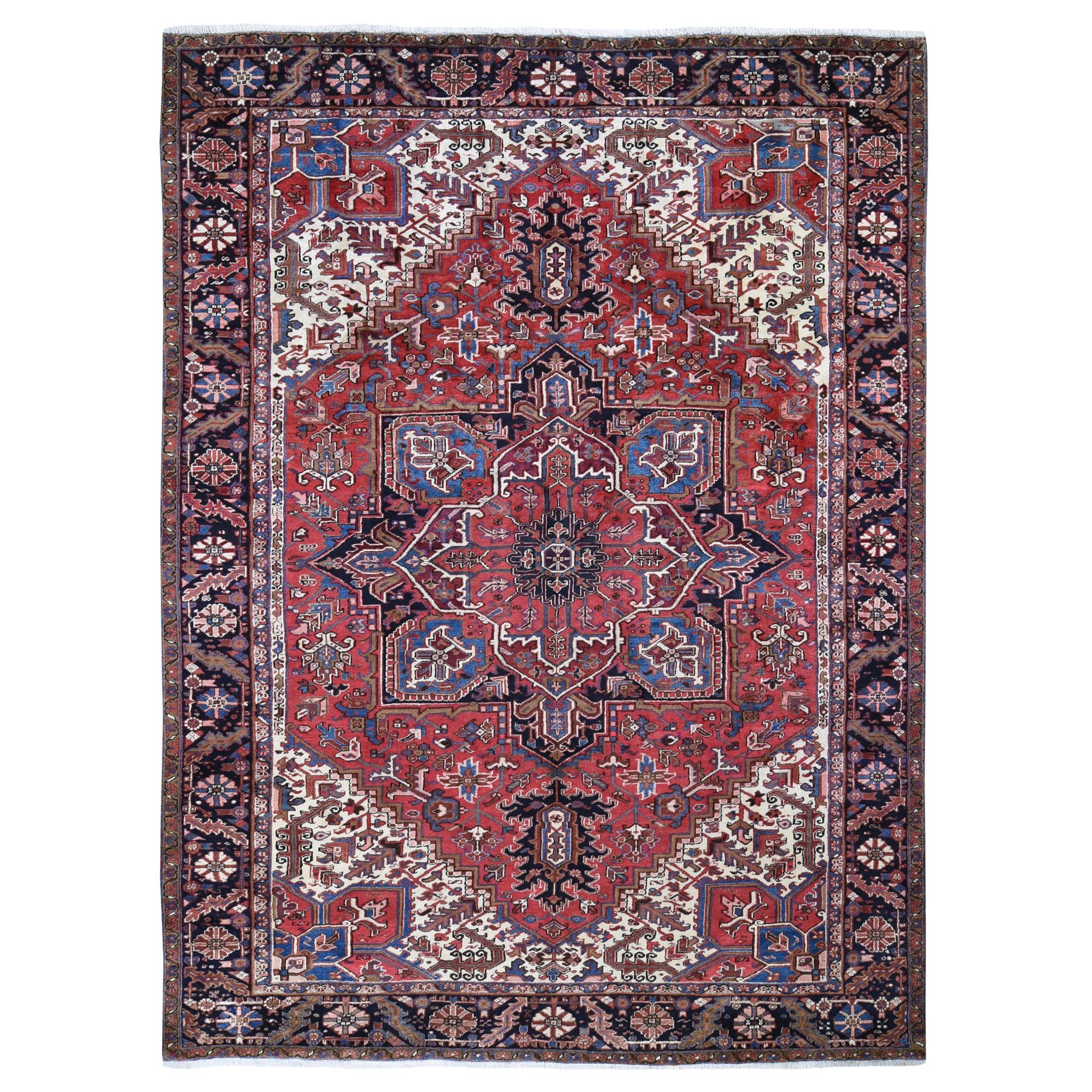 Classic Persian Collection Hand Knotted Red Rug No: 0199284
