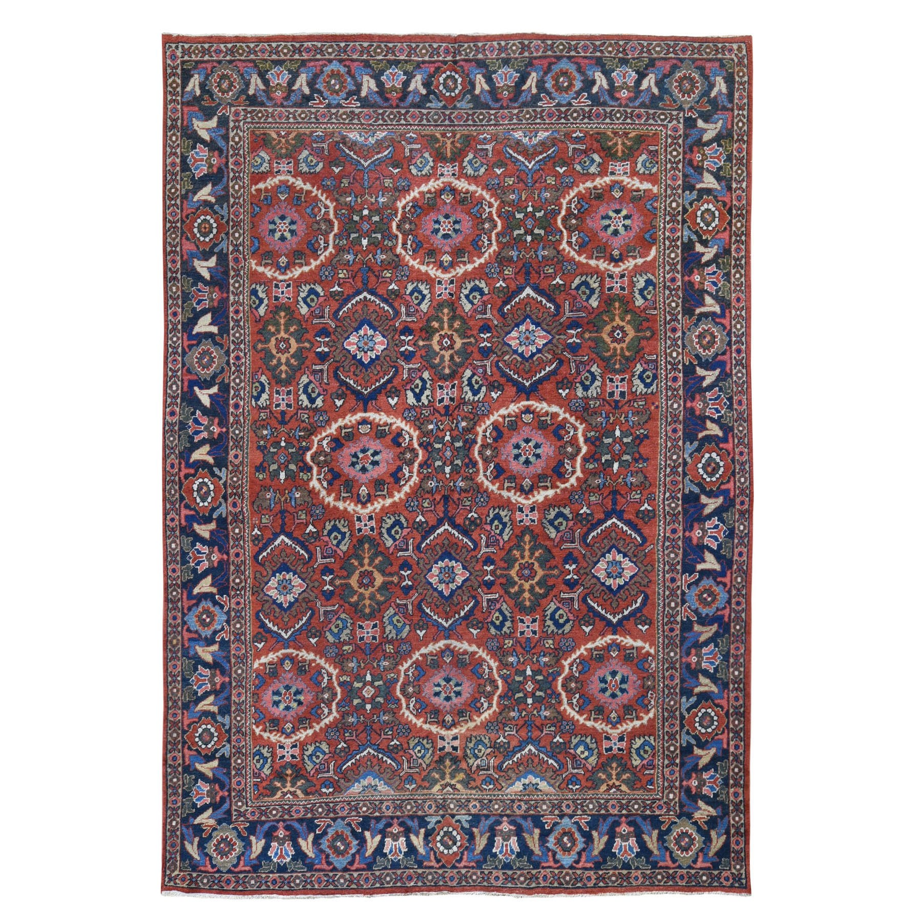 Antique Collection Hand Knotted Red Rug No: 0199288