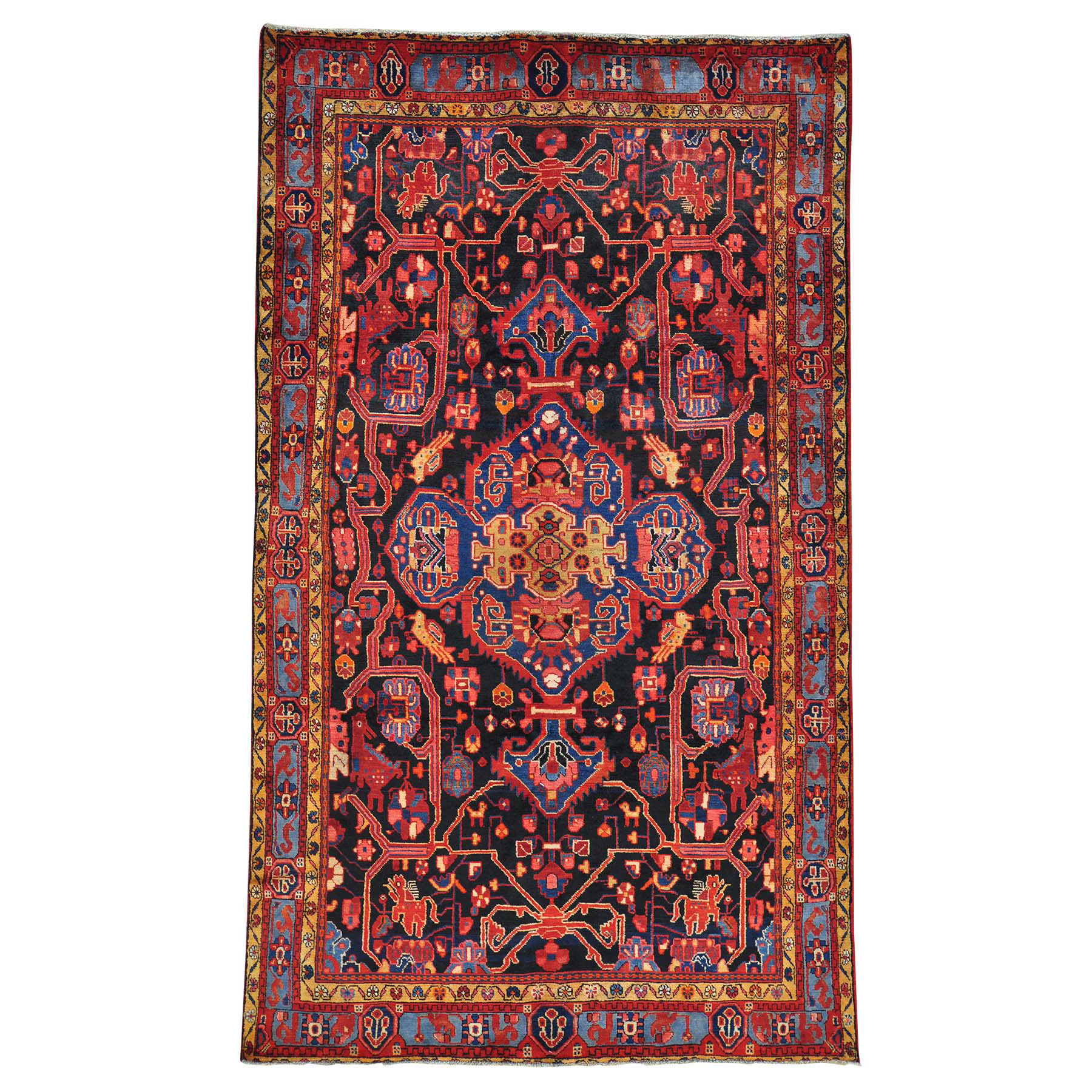 Classic Persian Collection Hand Knotted Blue Rug No: 0149008