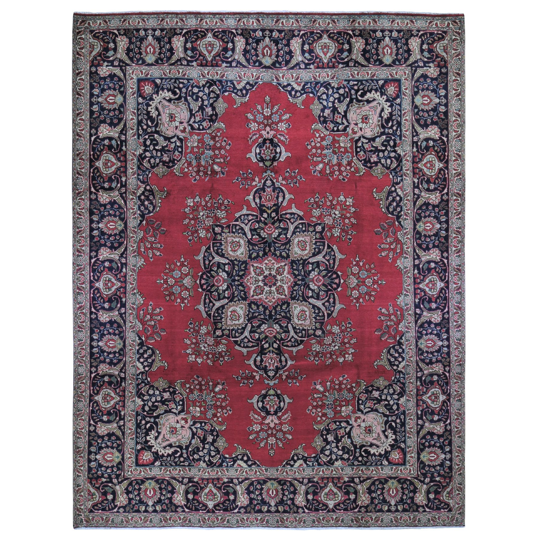 Classic Persian Collection Hand Knotted Red Rug No: 0199300