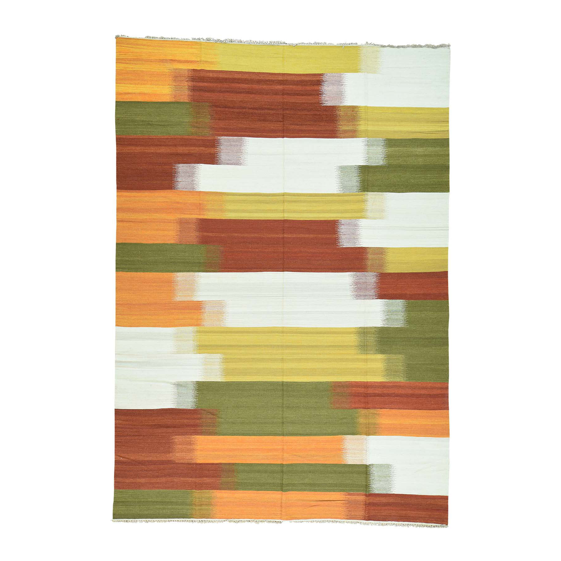 Fine Kilim Collection Hand Woven Multicolored Rug No: 0163628