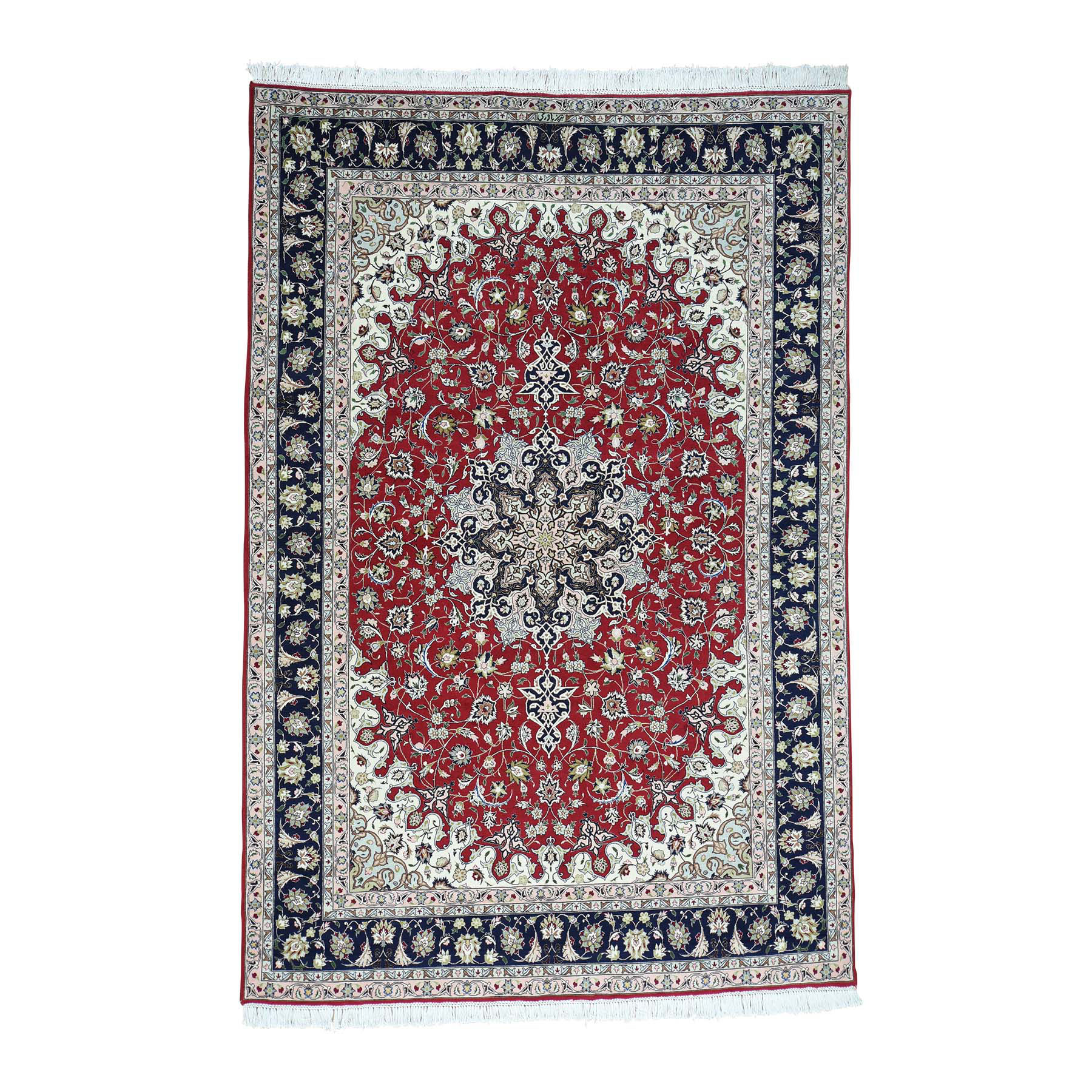Pirniakan Collection Hand Knotted Red Rug No: 0163914