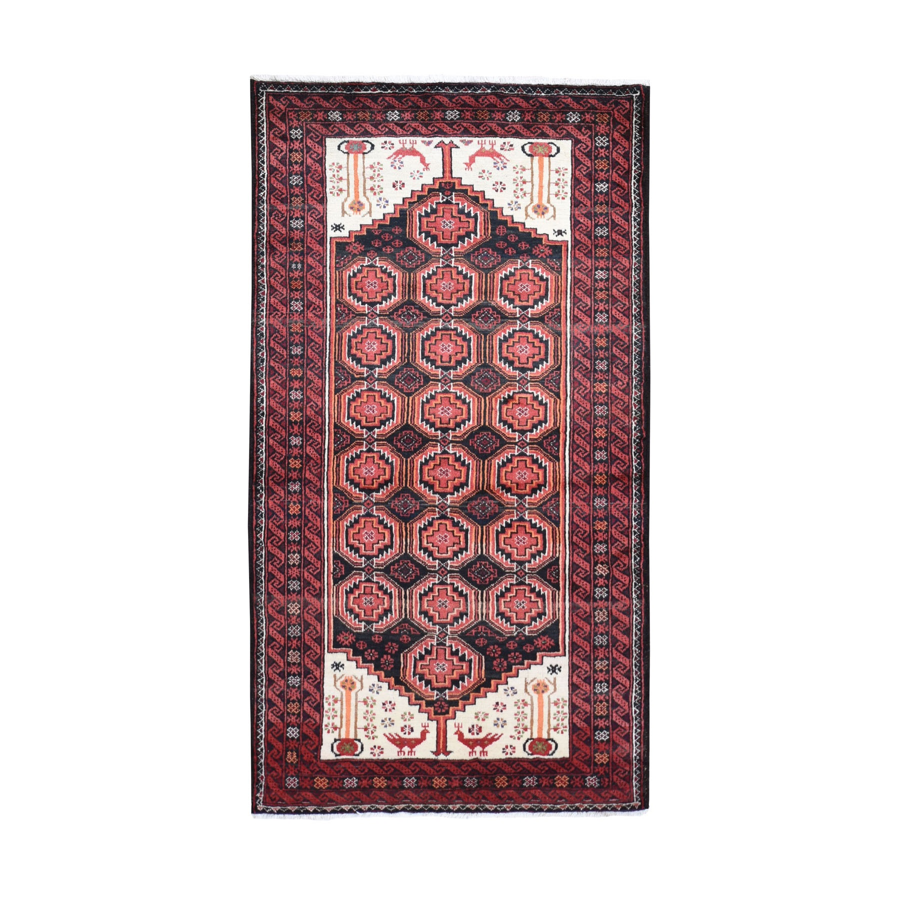 Classic Persian Collection Hand Knotted Black Rug No: 0199388