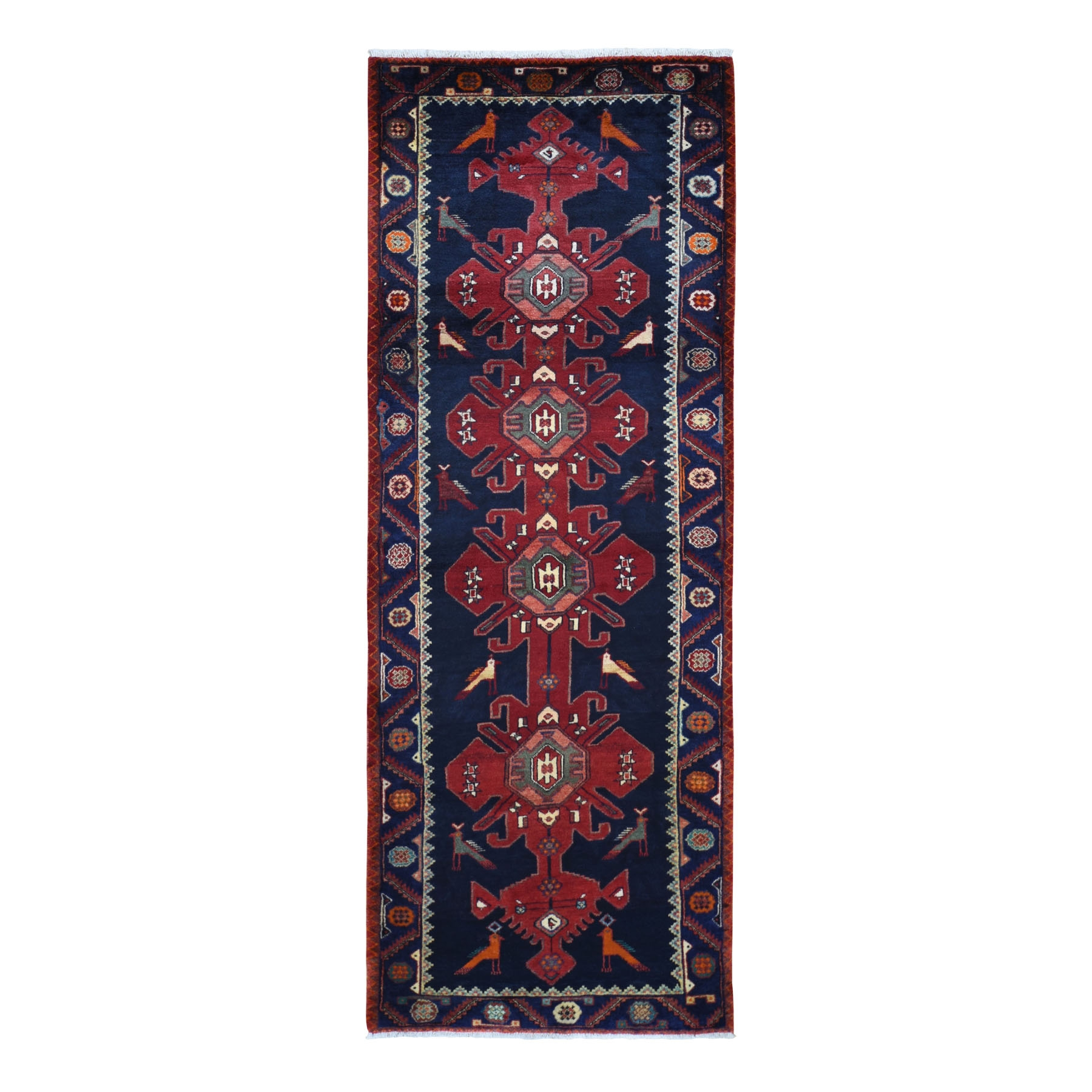 Classic Persian Collection Hand Knotted Red Rug No: 0199504
