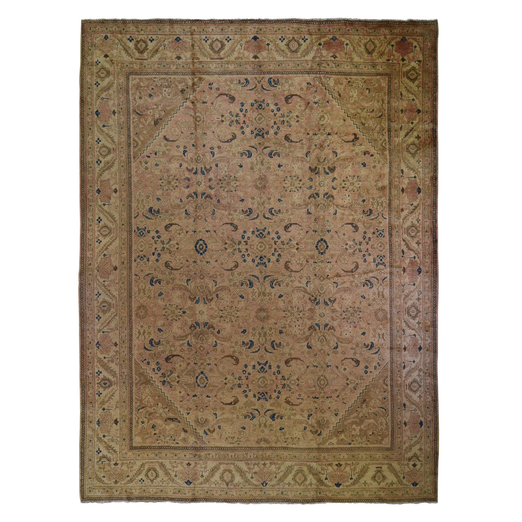 Classic Persian Collection Hand Knotted Orange Rug No: 199532