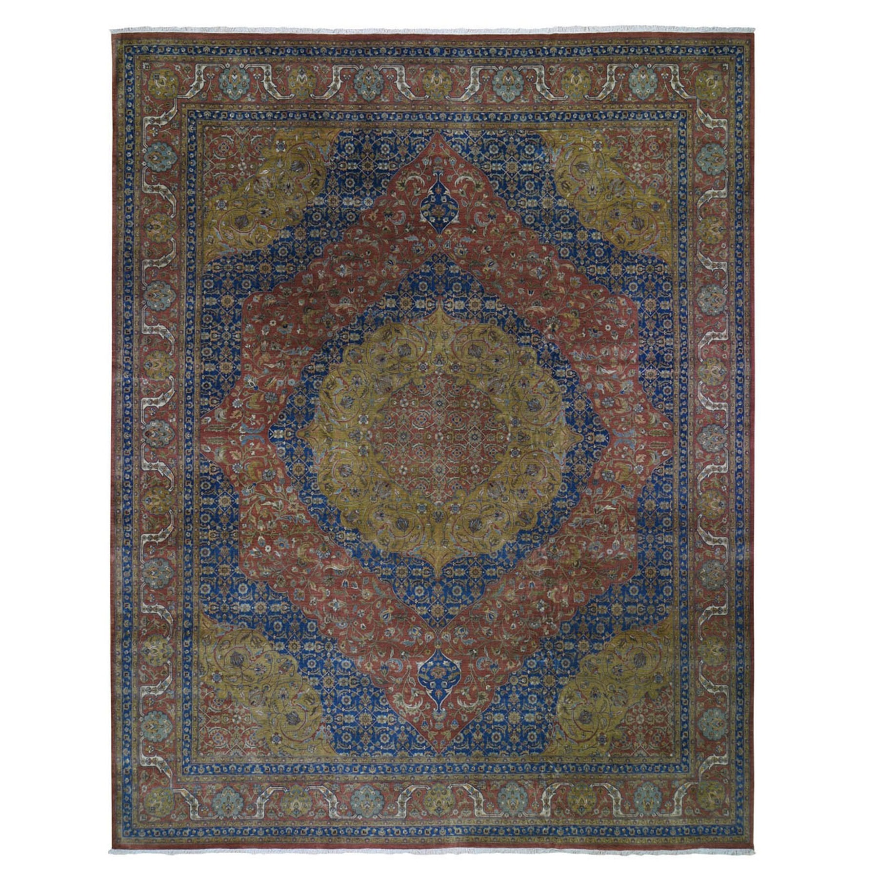 Pirniakan Collection Hand Knotted Red Rug No: 0199534