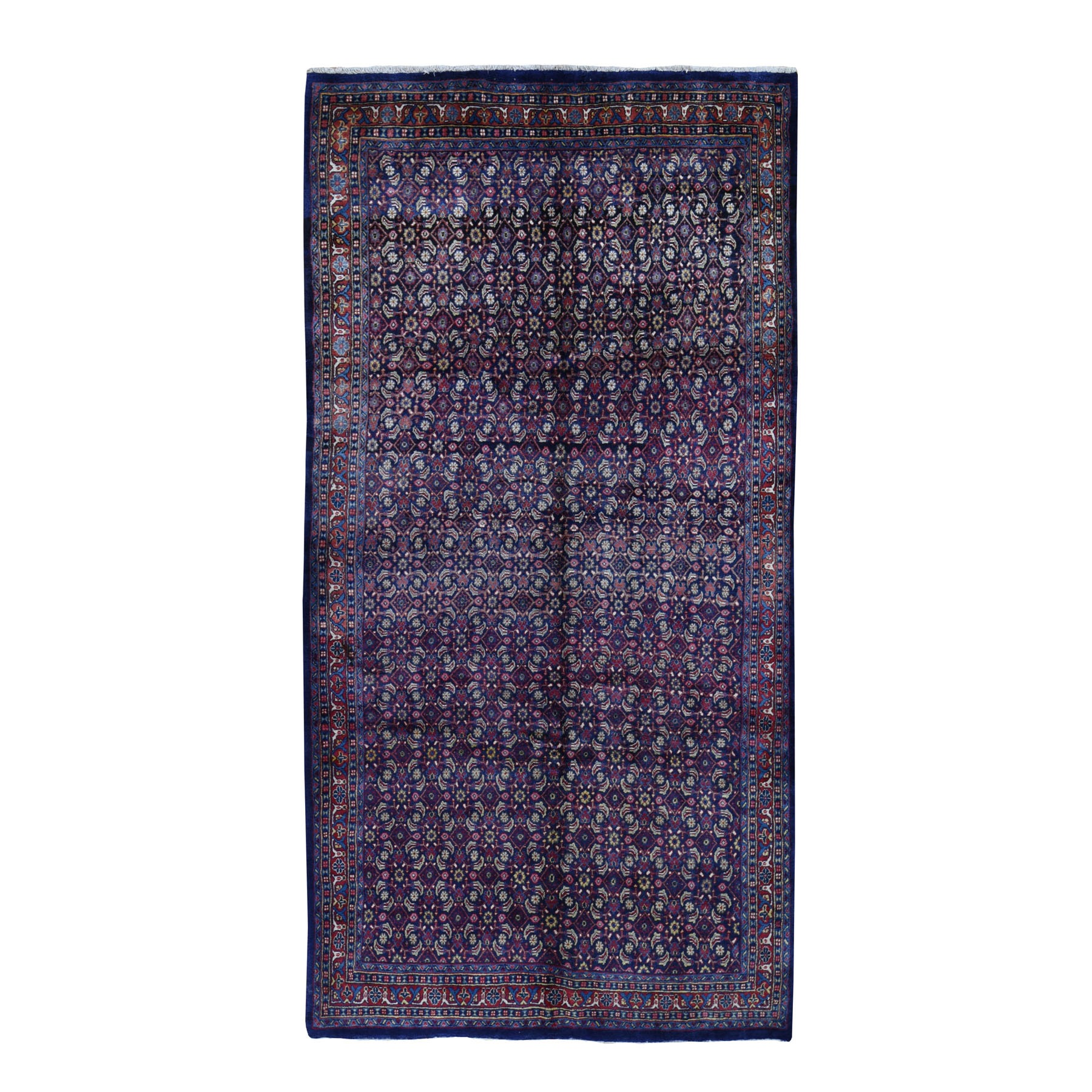 Classic Persian Collection Hand Knotted Blue Rug No: 199566
