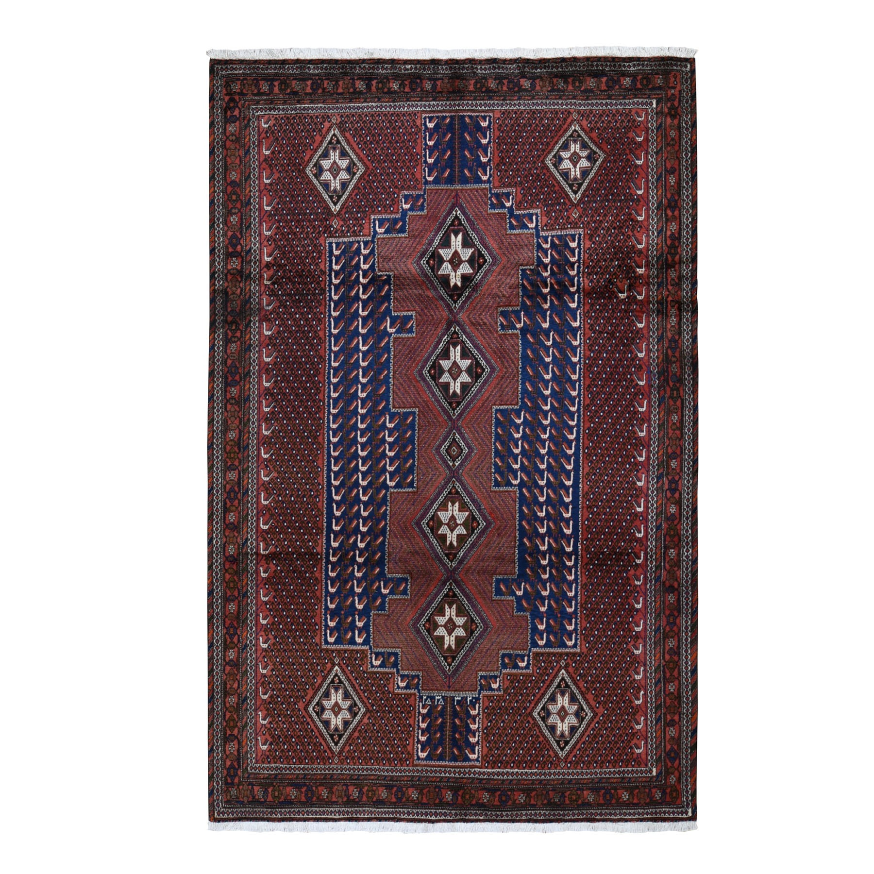 Classic Persian Collection Hand Knotted Red Rug No: 199578