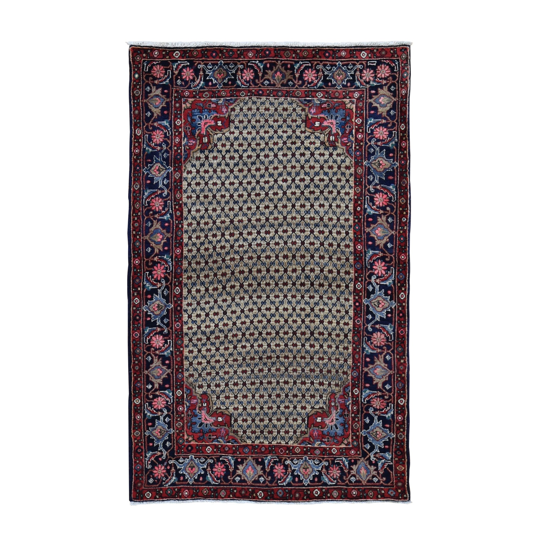 Classic Persian Collection Hand Knotted Brown Rug No: 0199580