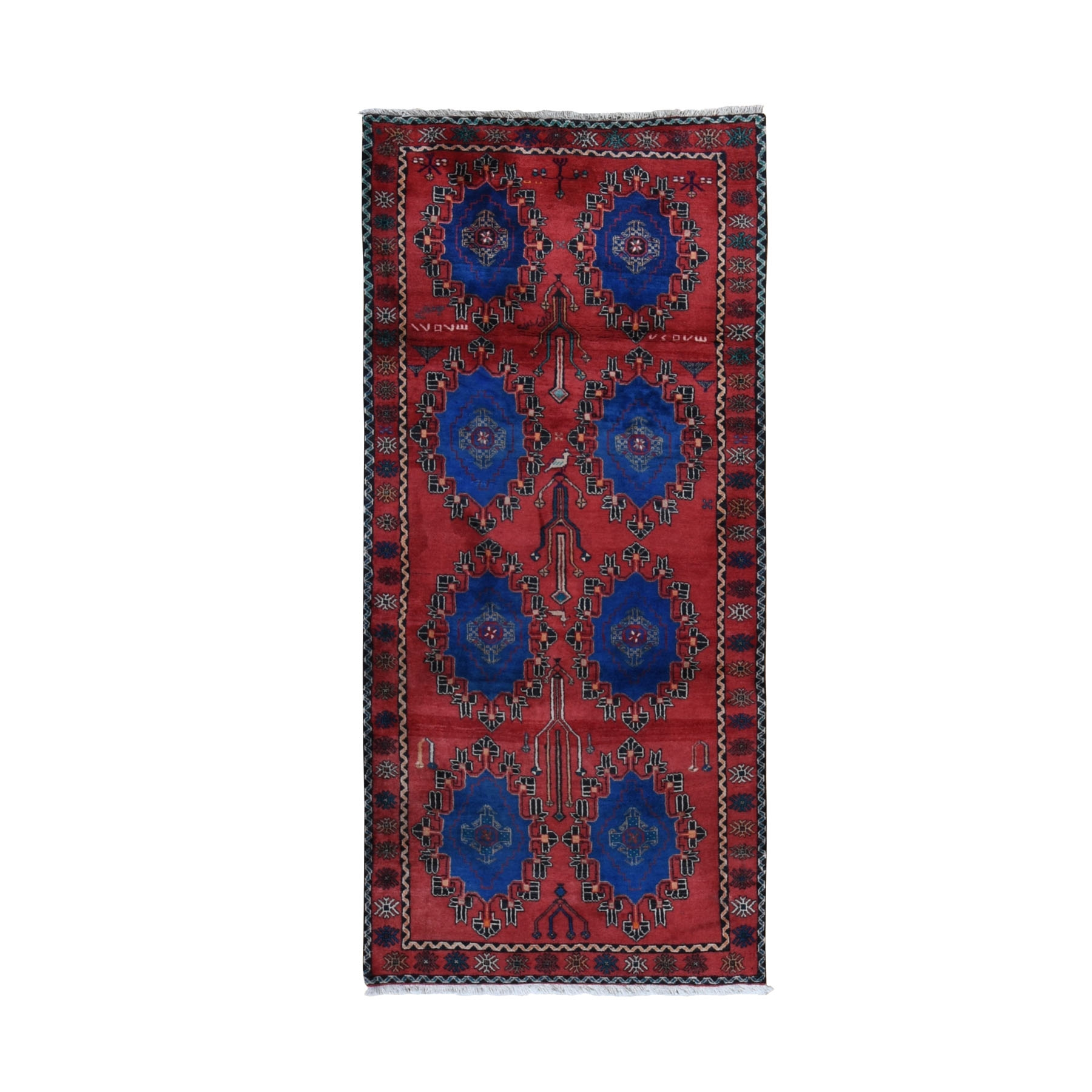 Classic Persian Collection Hand Knotted Red Rug No: 0199588