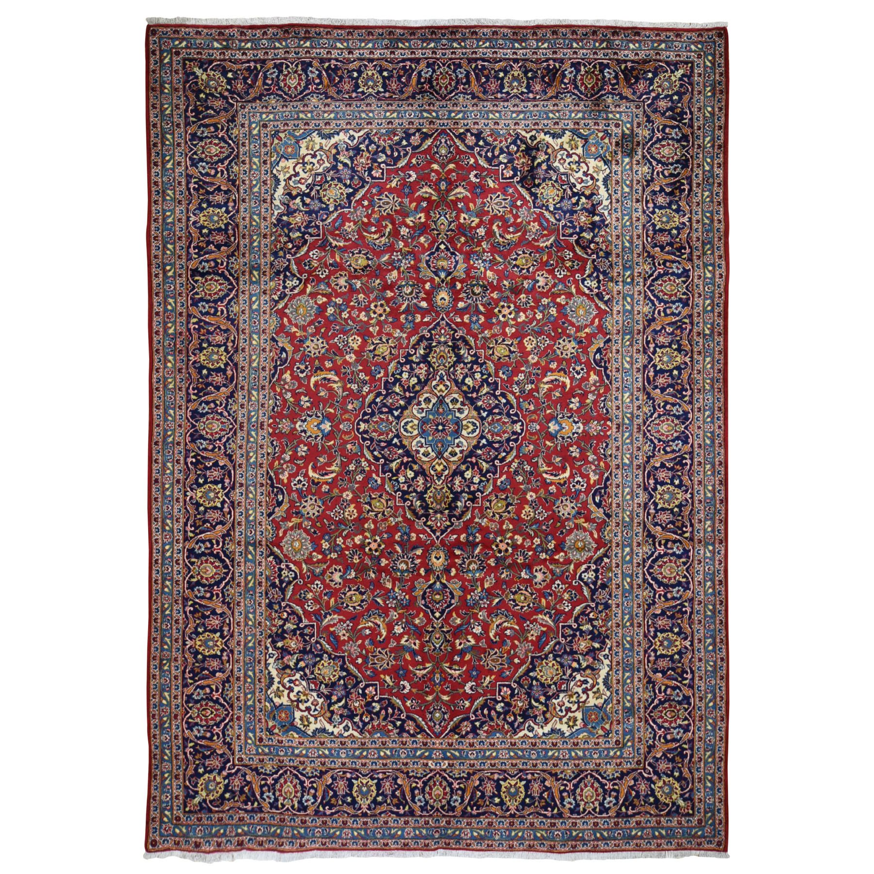 Classic Persian Collection Hand Knotted Red Rug No: 199594