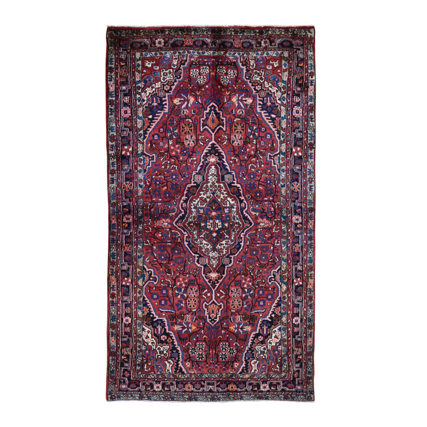 Classic Persian Collection Hand Knotted Red Rug No: 0199596