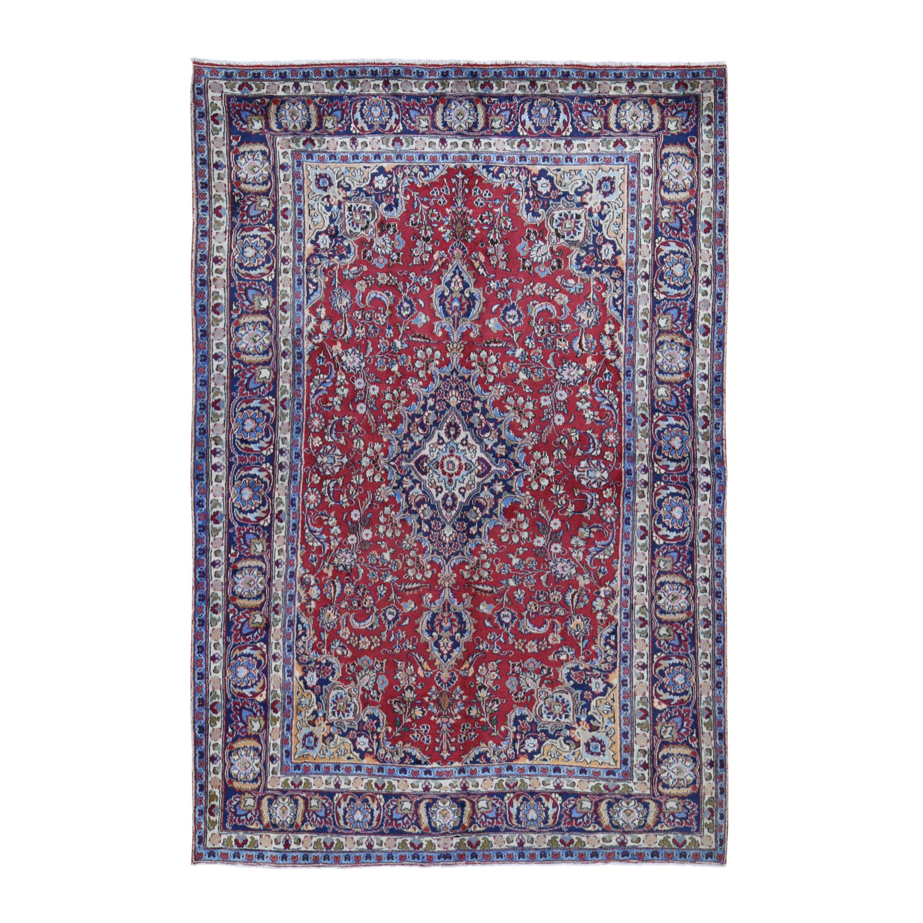 Classic Persian Collection Hand Knotted Red Rug No: 0199630